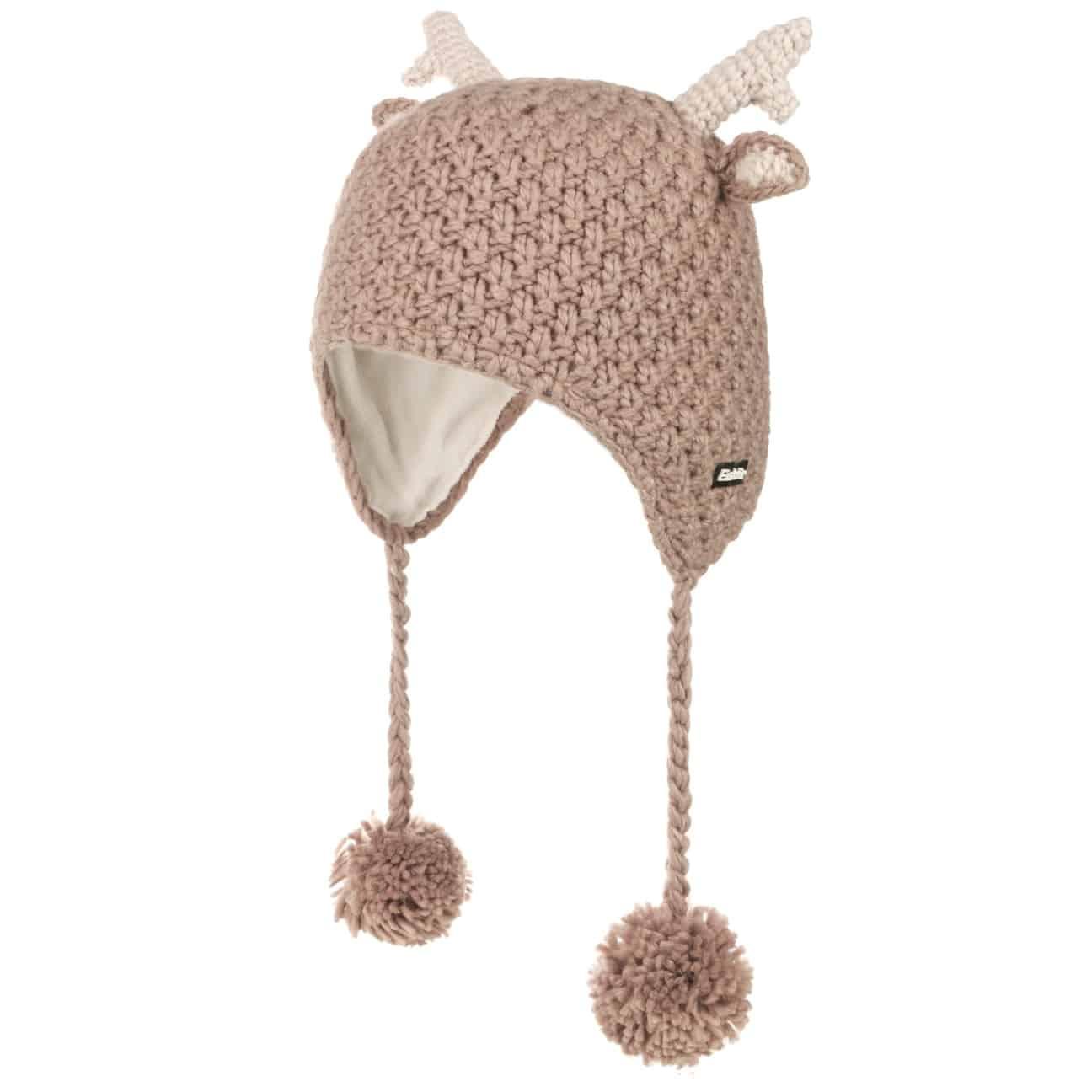 Bonnet Péruvien Deer Kids by Eisbär  bonnet pour enfant