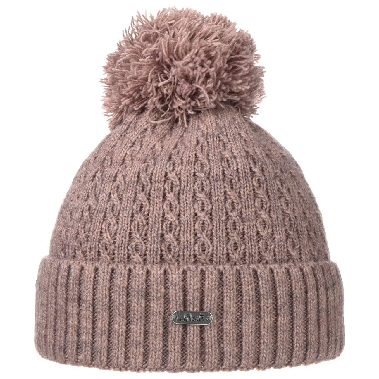 Bonnet à Pompon Estephania by Chillouts  bonnet en tricot