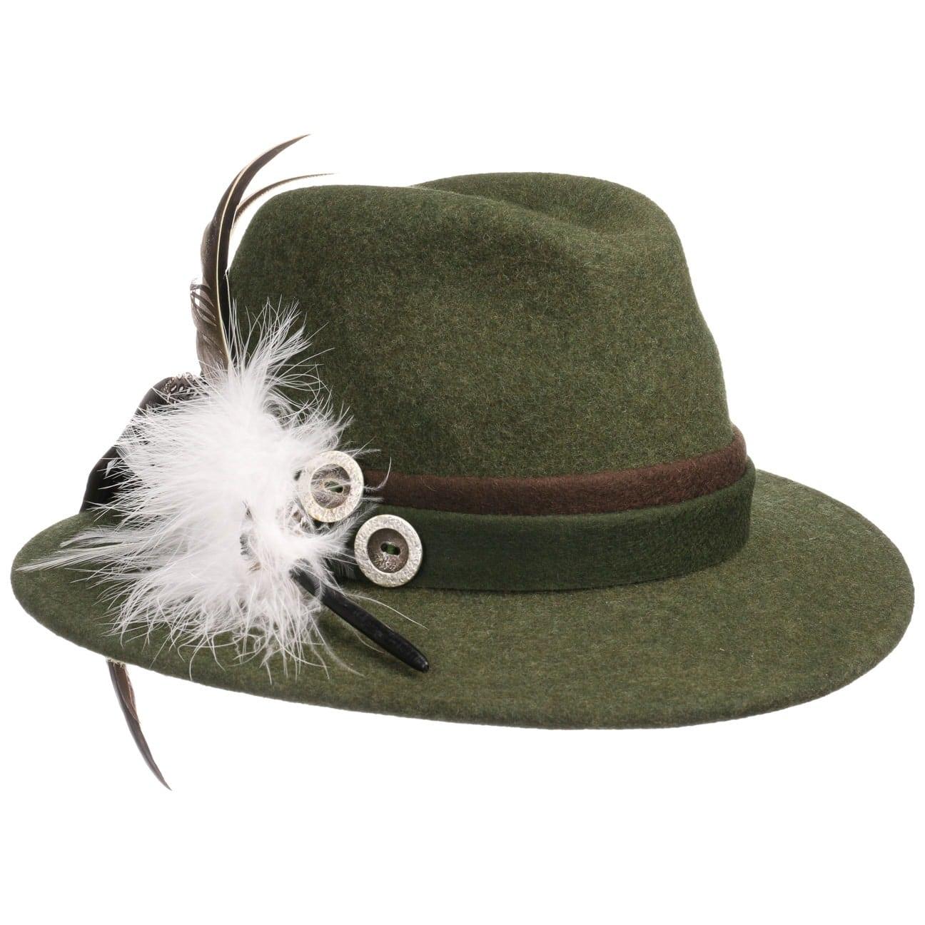 Chapeau Tyrolien Marietta by Lodenhut Manufaktur  chapeau en feutre de laine