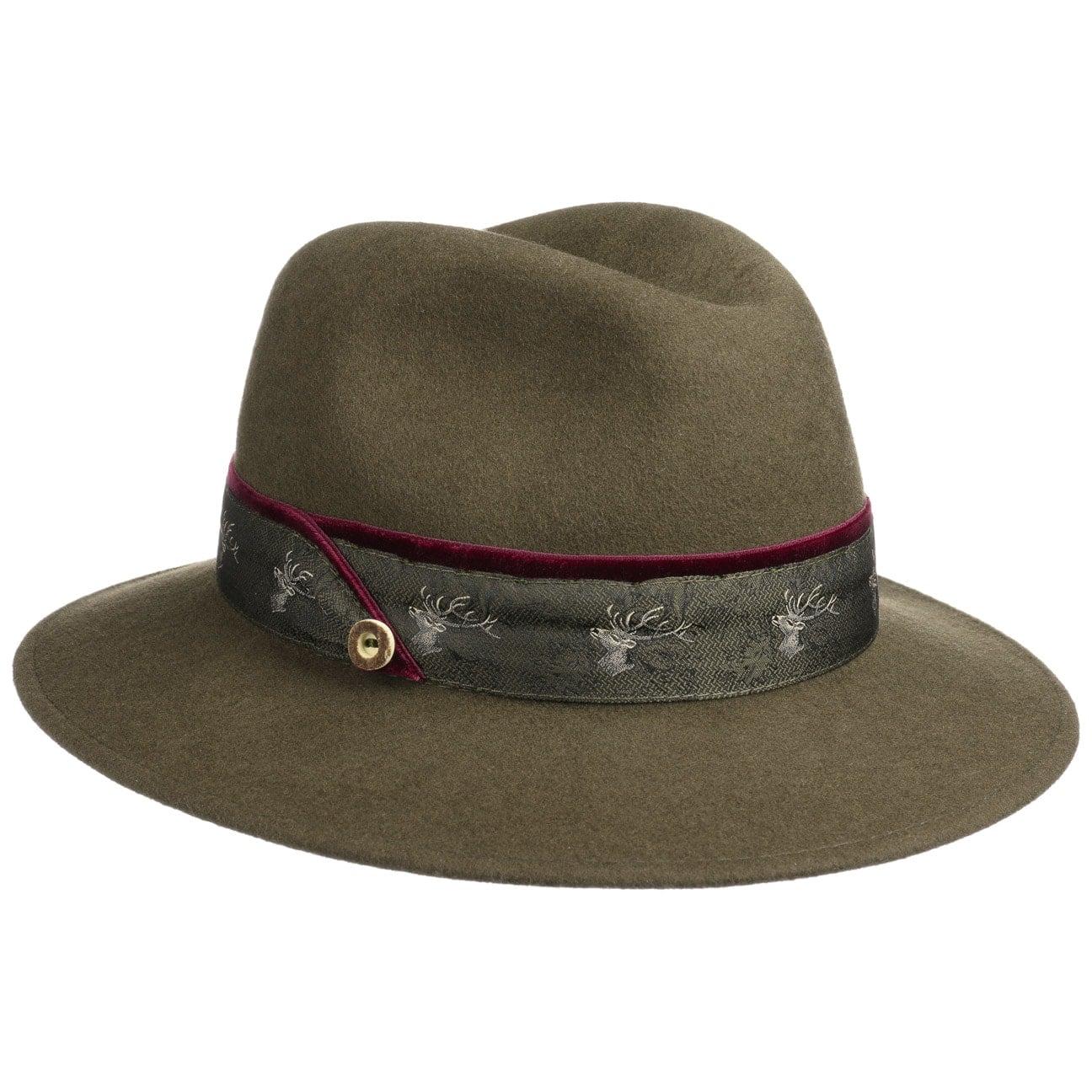 Chapeau en Feutre Deertrim by Lodenhut Manufaktur  chapeau en laine
