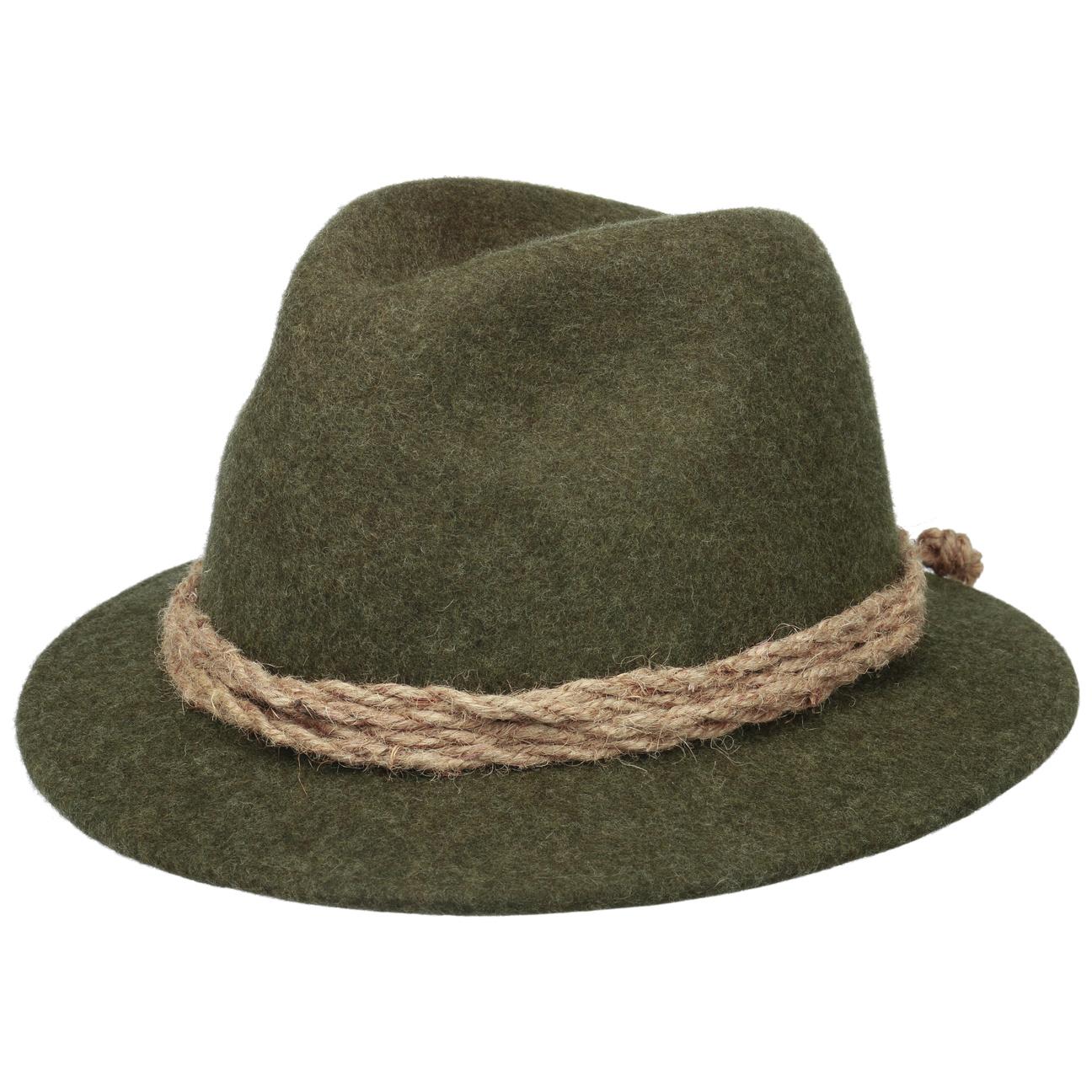 Chapeau Tyrolien Short Brim by Lodenhut Manufaktur  chapeau en feutre de laine