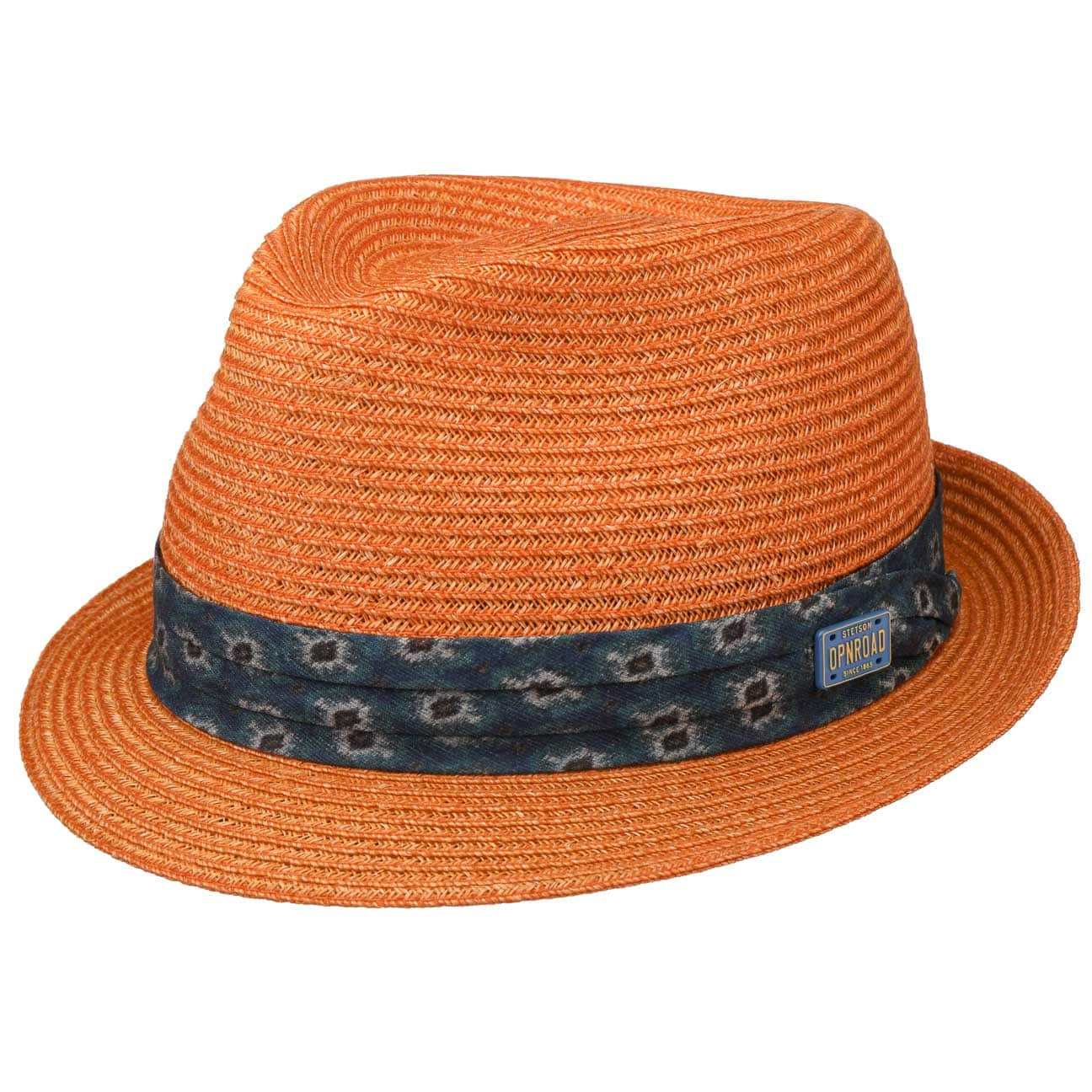 Chapeau en Paille Abaca Trilby by Stetson  chapeau de soleil