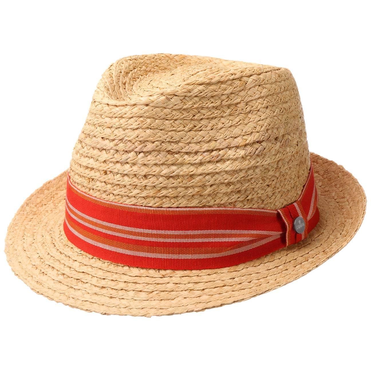 Chapeau en Paille Lavito Trilby by Lierys  chapeau de plage