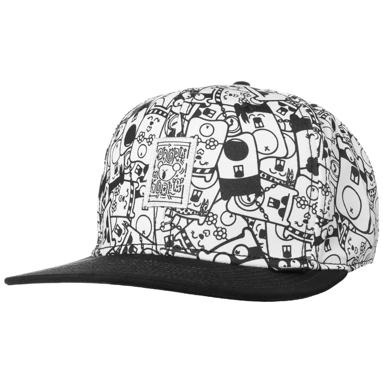 Casquette Snapback 6P Angry Koala by Djinns  casquette visière plate