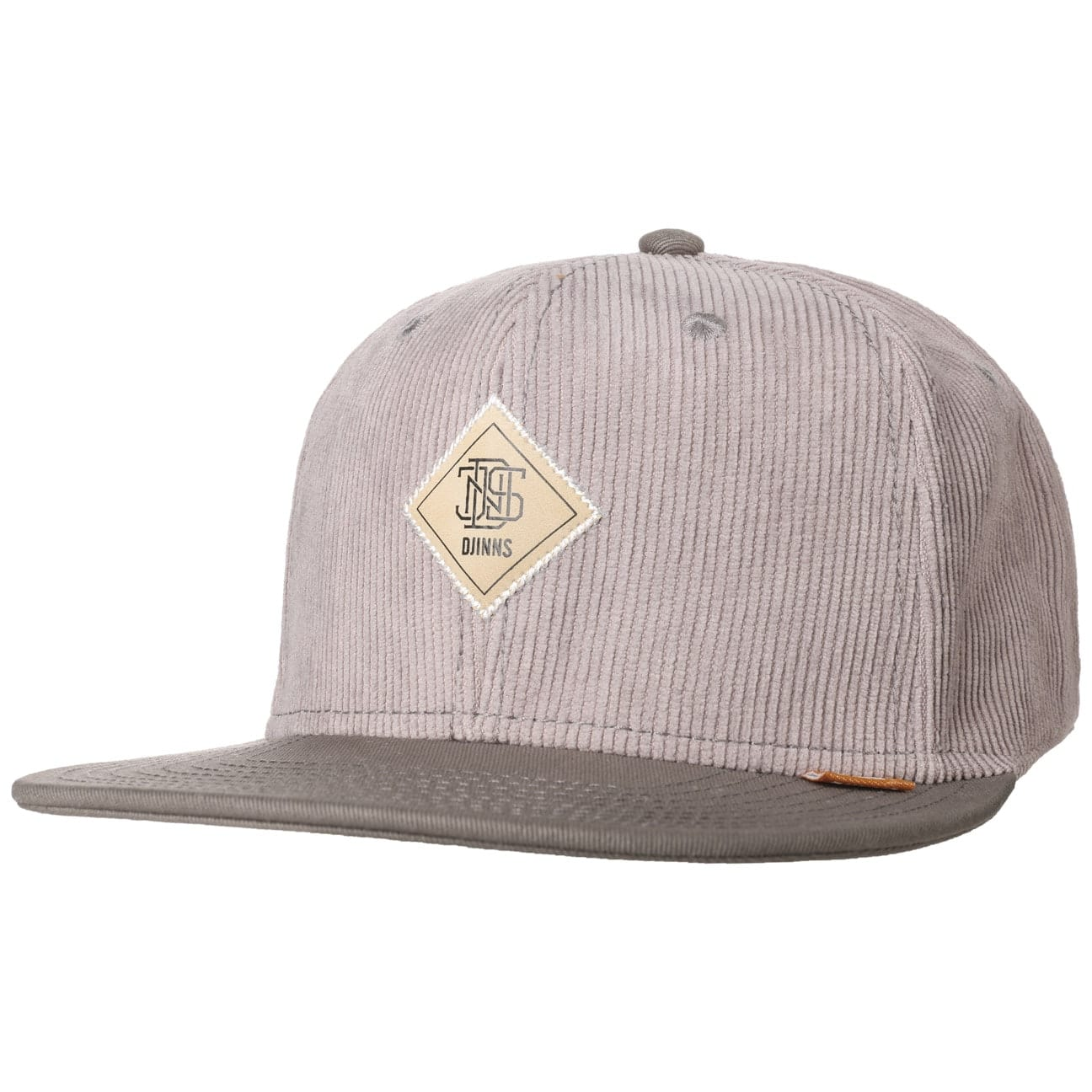Casquette Snapback 6P Washed Corduroy by Djinns  casquette visière plate
