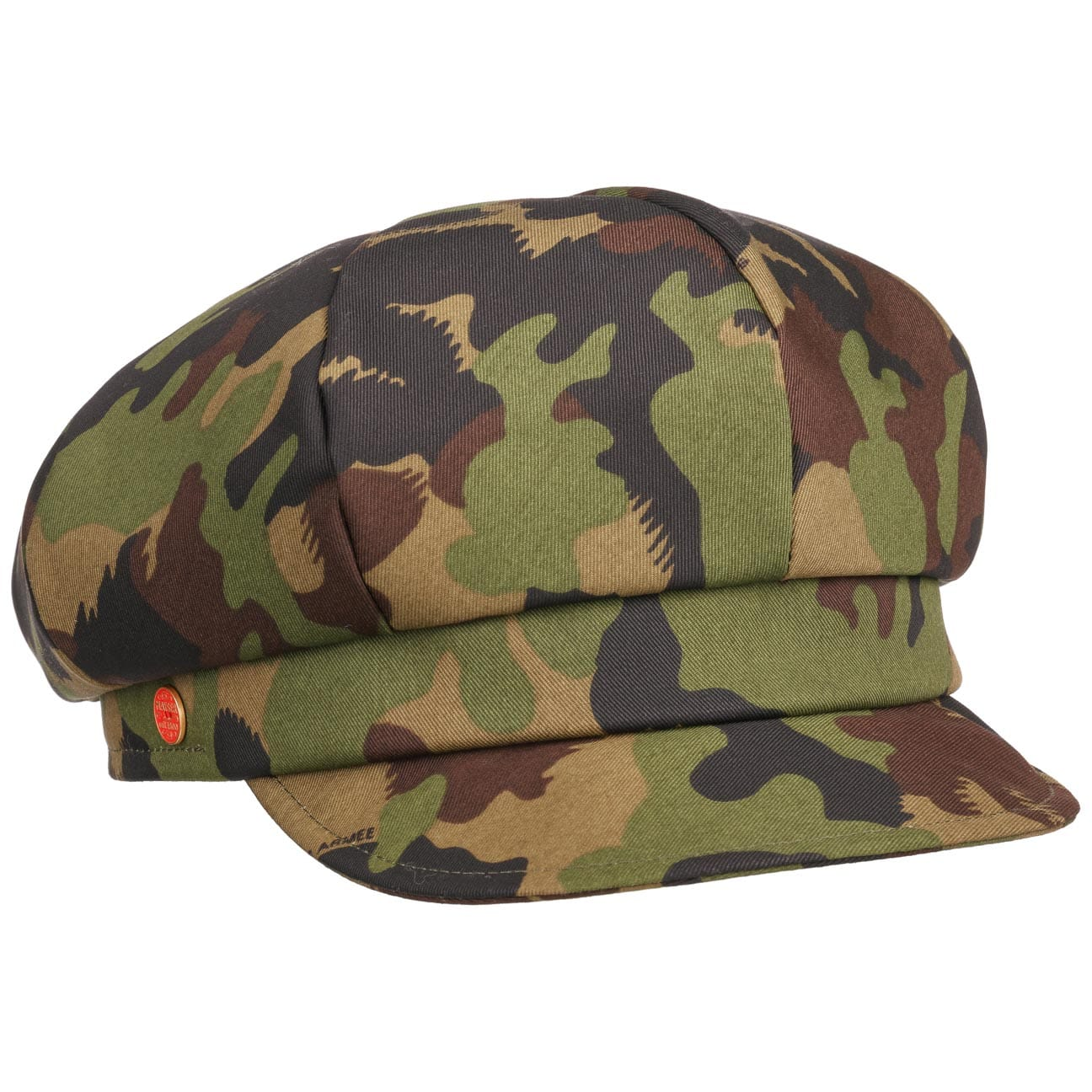 Casquette Gavroche Anja Camouflage by Mayser  casquette baker boy