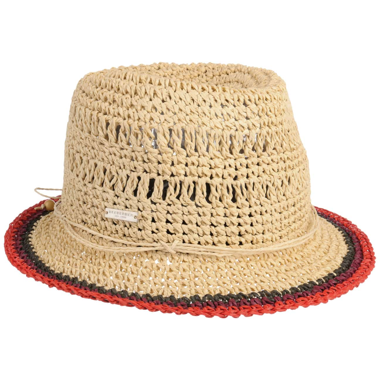 Chapeau Trilby Rollable Crochet by Seeberger  chapeau d`été