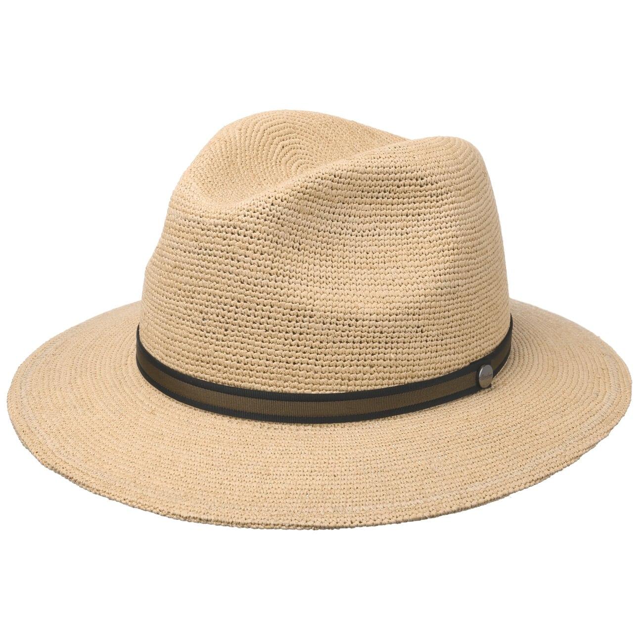 Chapeau Malléable Raphia Crochet by Borsalino  chapeau d`été