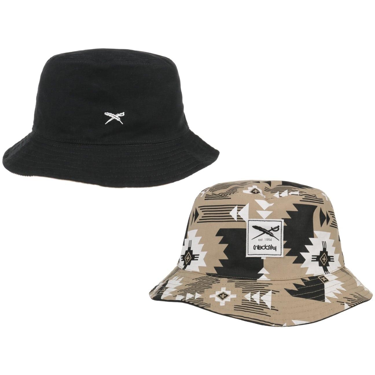 Chapeau Réversible Nomado Bucket by iriedaily  chapeau en tissu