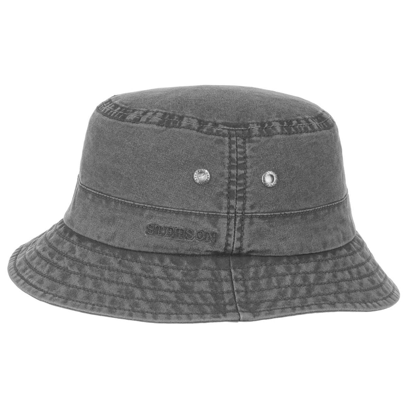 Chapeau Delave en Coton by Stetson  chapeau dété