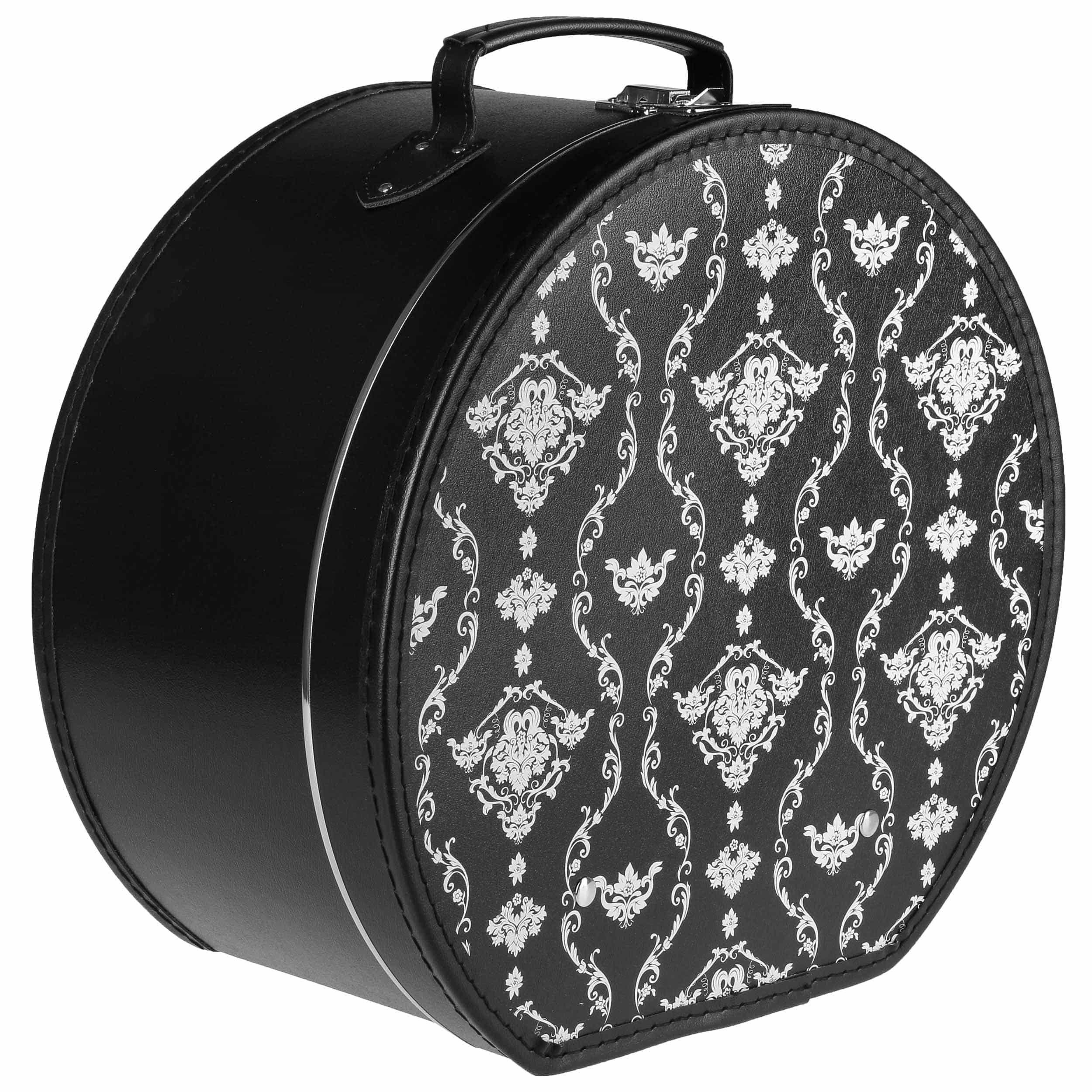 boite chapeau avec ornements by lierys eur 49 95 chapeaux casquettes et bonnets en ligne. Black Bedroom Furniture Sets. Home Design Ideas