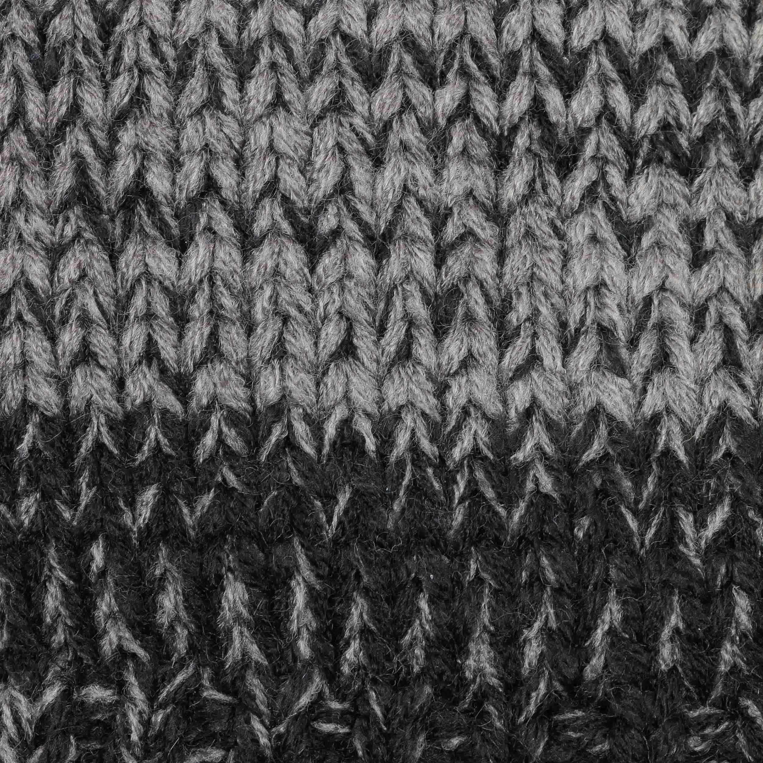 14a090bb10e ... Bonnet Beanie Brighton by Barts - noir-gris 4 ...