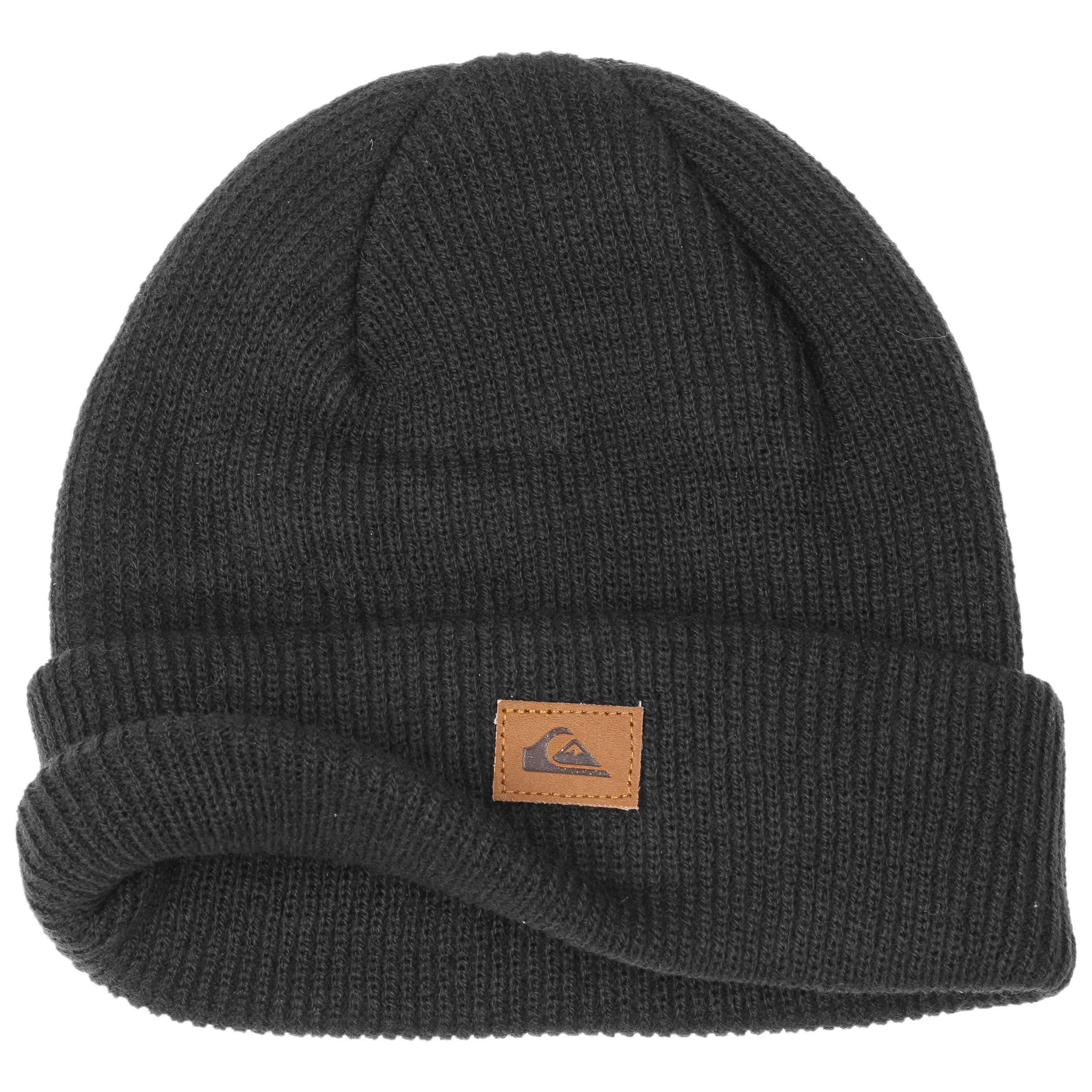Bonnet Beanie Performed by Quiksilver , noir 1