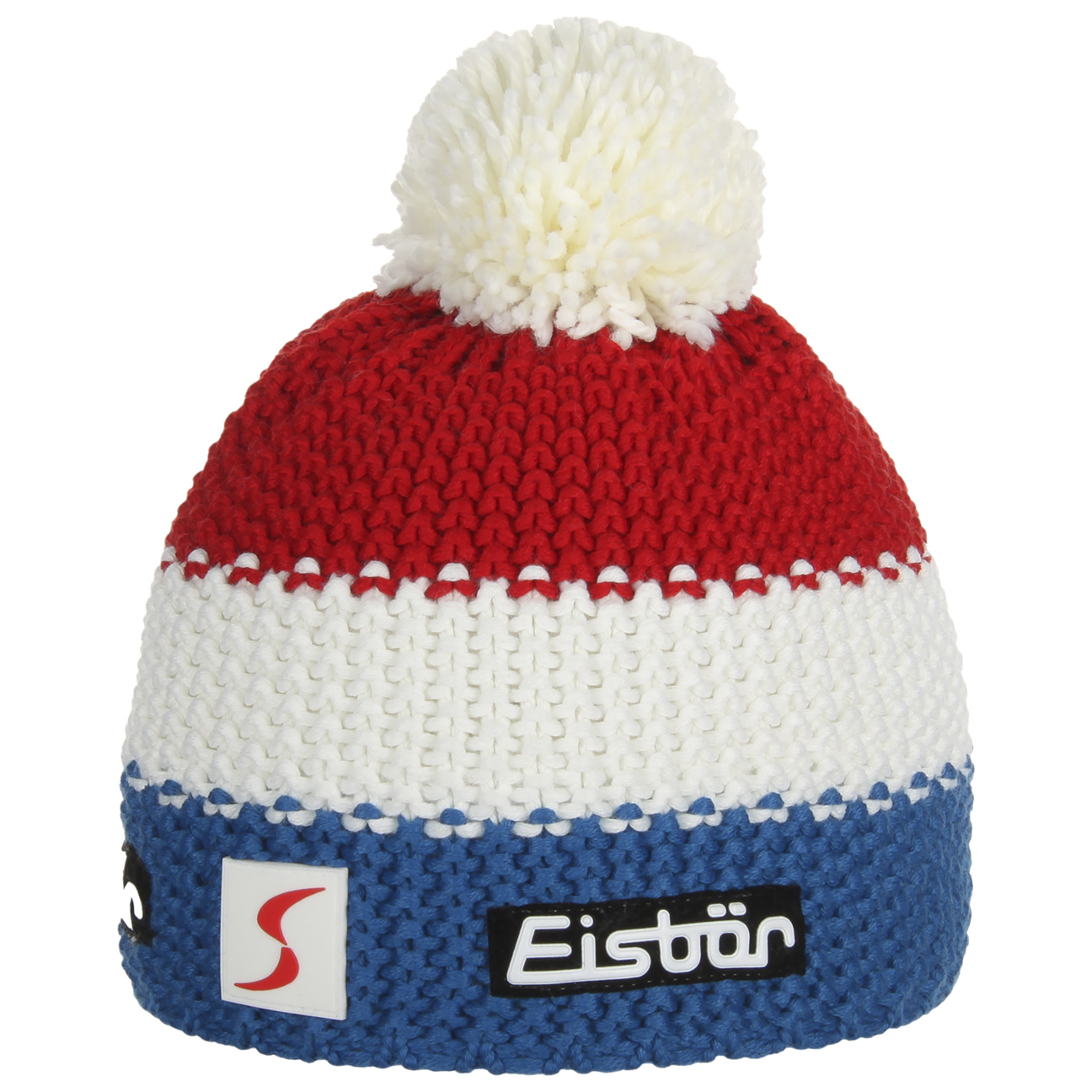 Bonnet à Pompon France by Eisbär , blanc 1