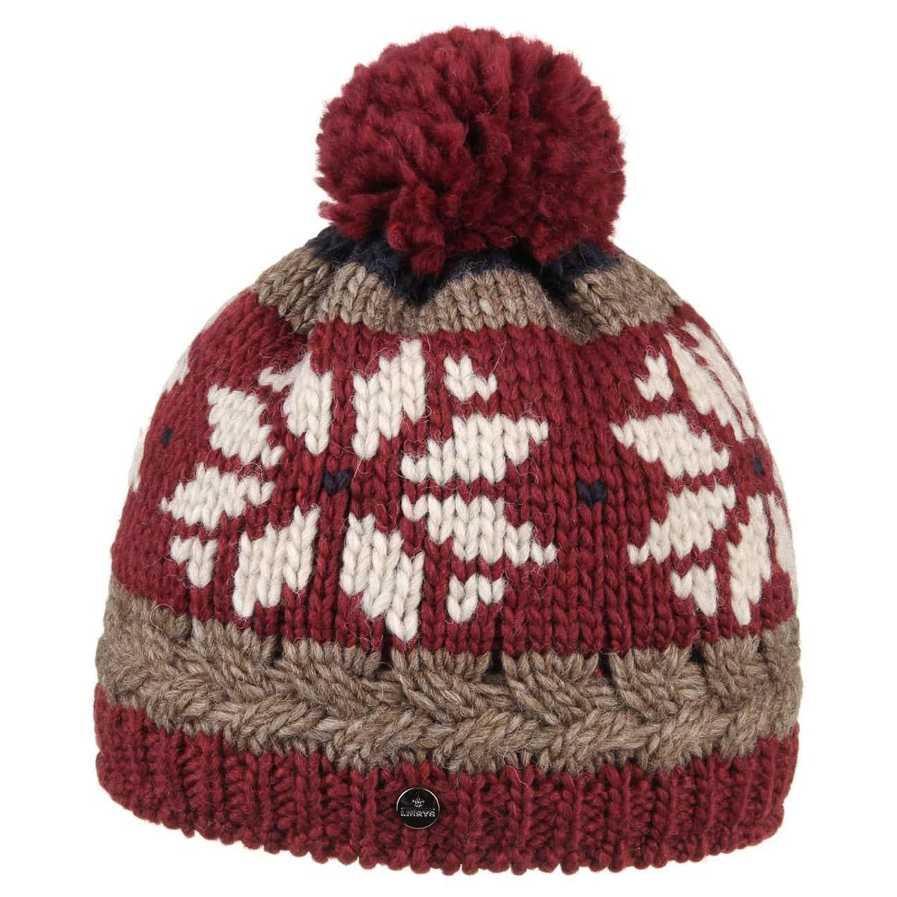 Bonnet pompon snowflake by lierys 39 95 - Chez pompon bordeaux ...