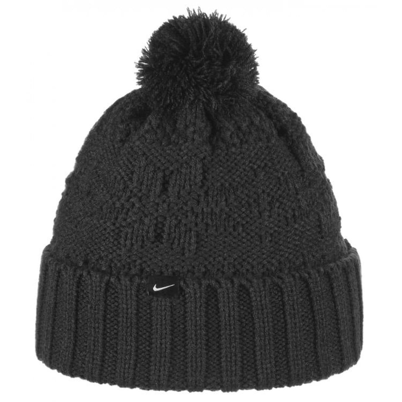 Bonnet à Pompon pour Femme by Nike , noir 1