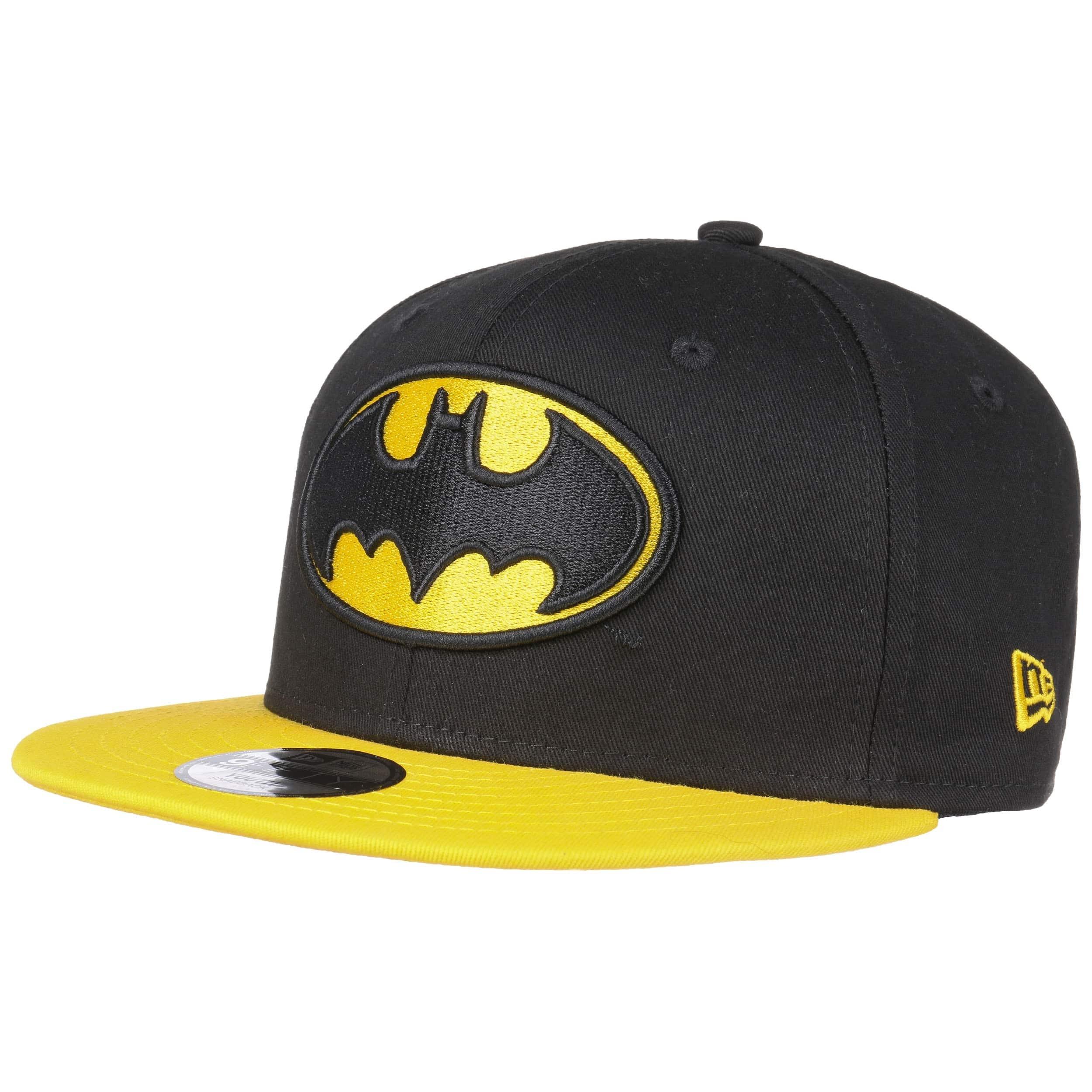 New Era 9Fifty Character Basic Batman Cap Black//Yellow