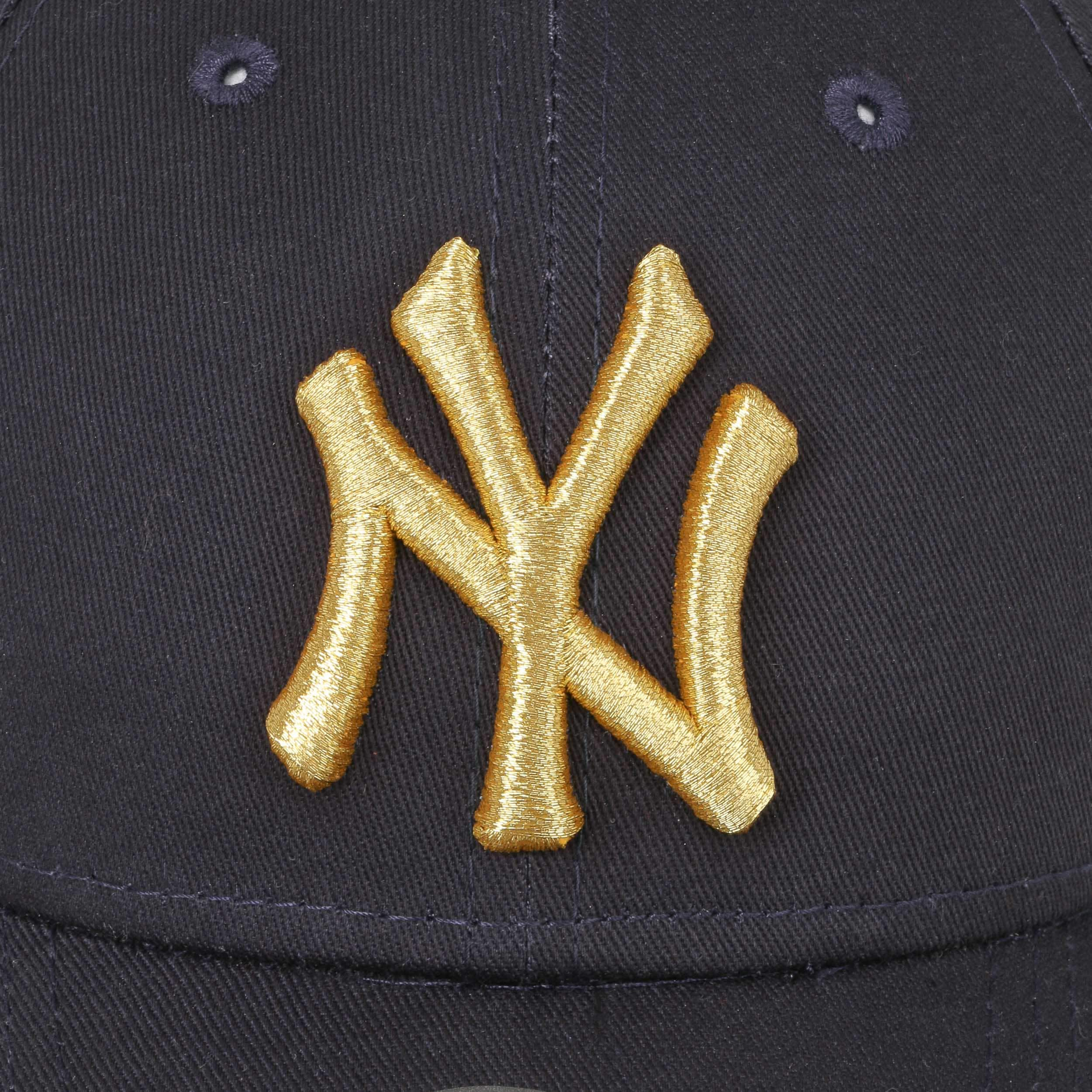 3a8ae0a630734 ... Casquette 9Forty Junior Golden NY by New Era - bleu foncé 3 ...
