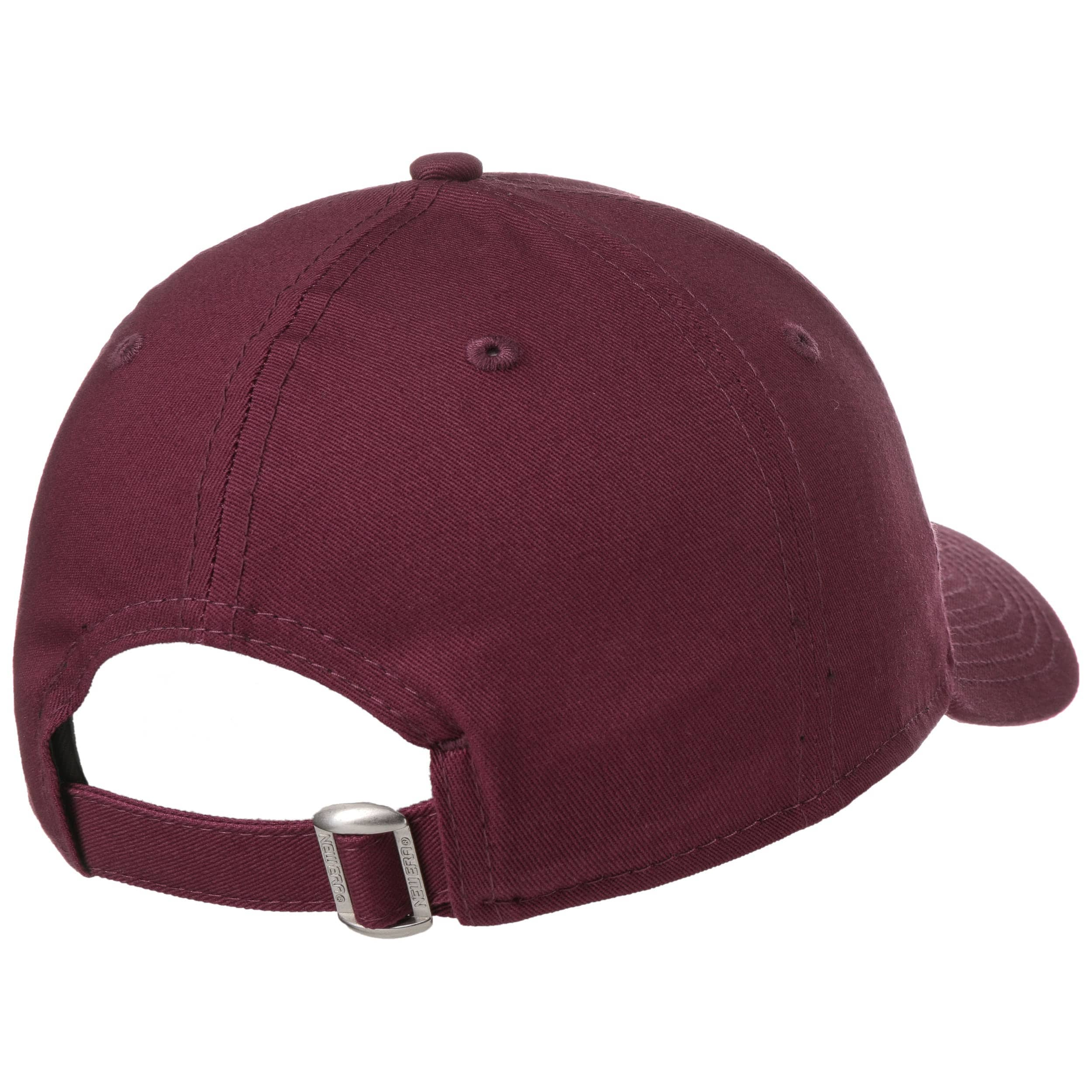 7d31d9da279b ... Casquette 9Forty NYC Ess by New Era - bordeaux 1 ...