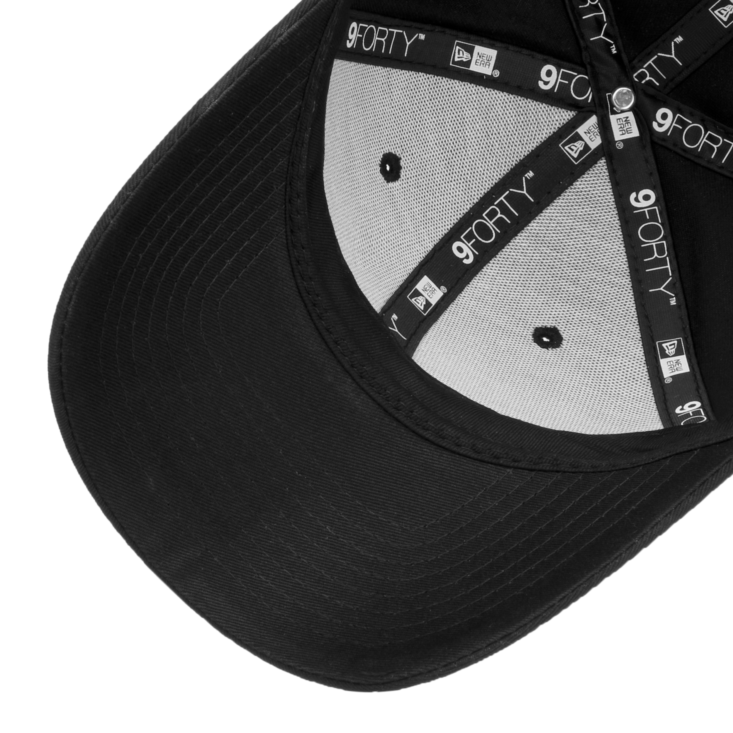 a2f607a0b514 ... Casquette 9Forty Strapback by New Era - blanc 2 ...