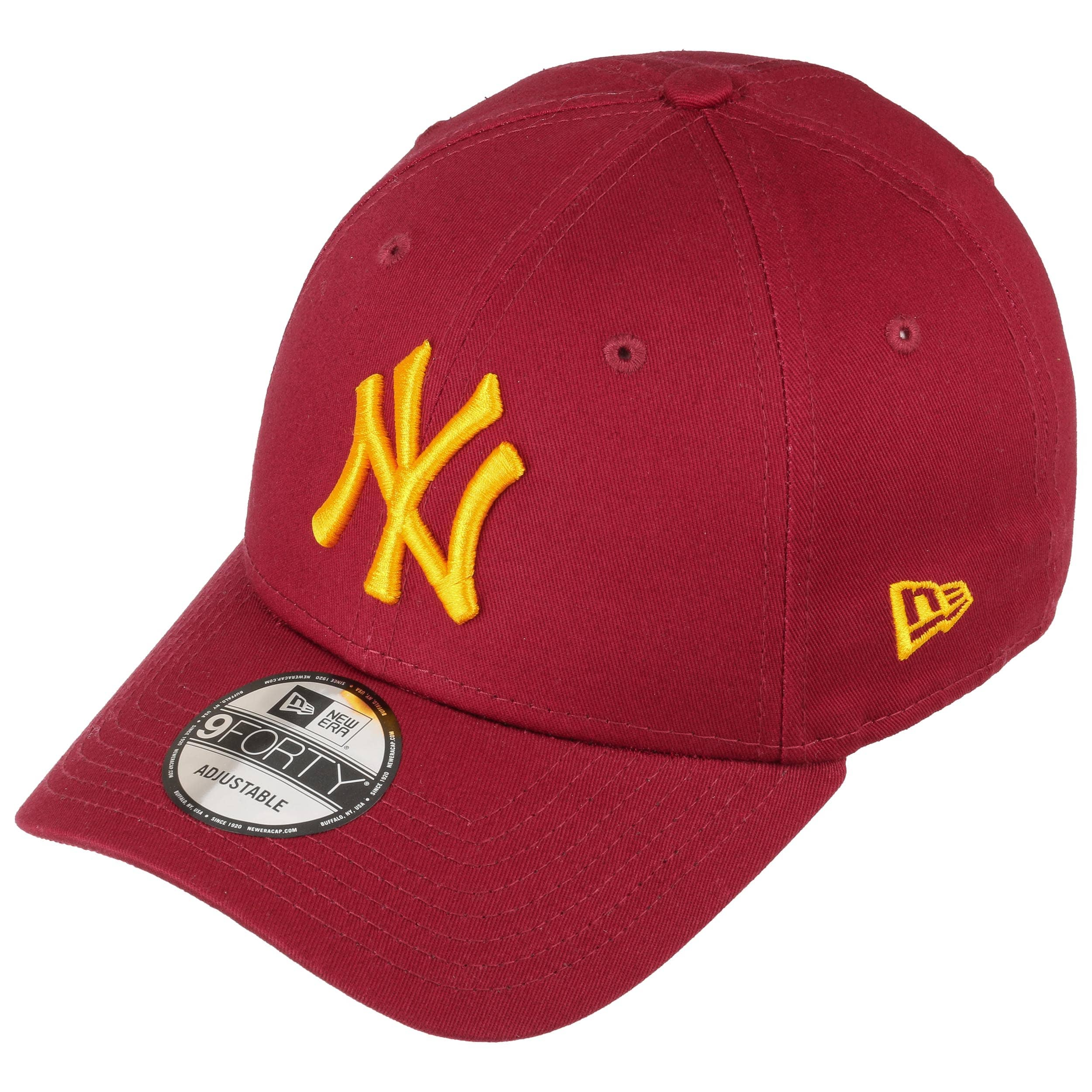 179490af4b5f Casquette 9Forty Yankees by New Era - bordeaux 1 ...