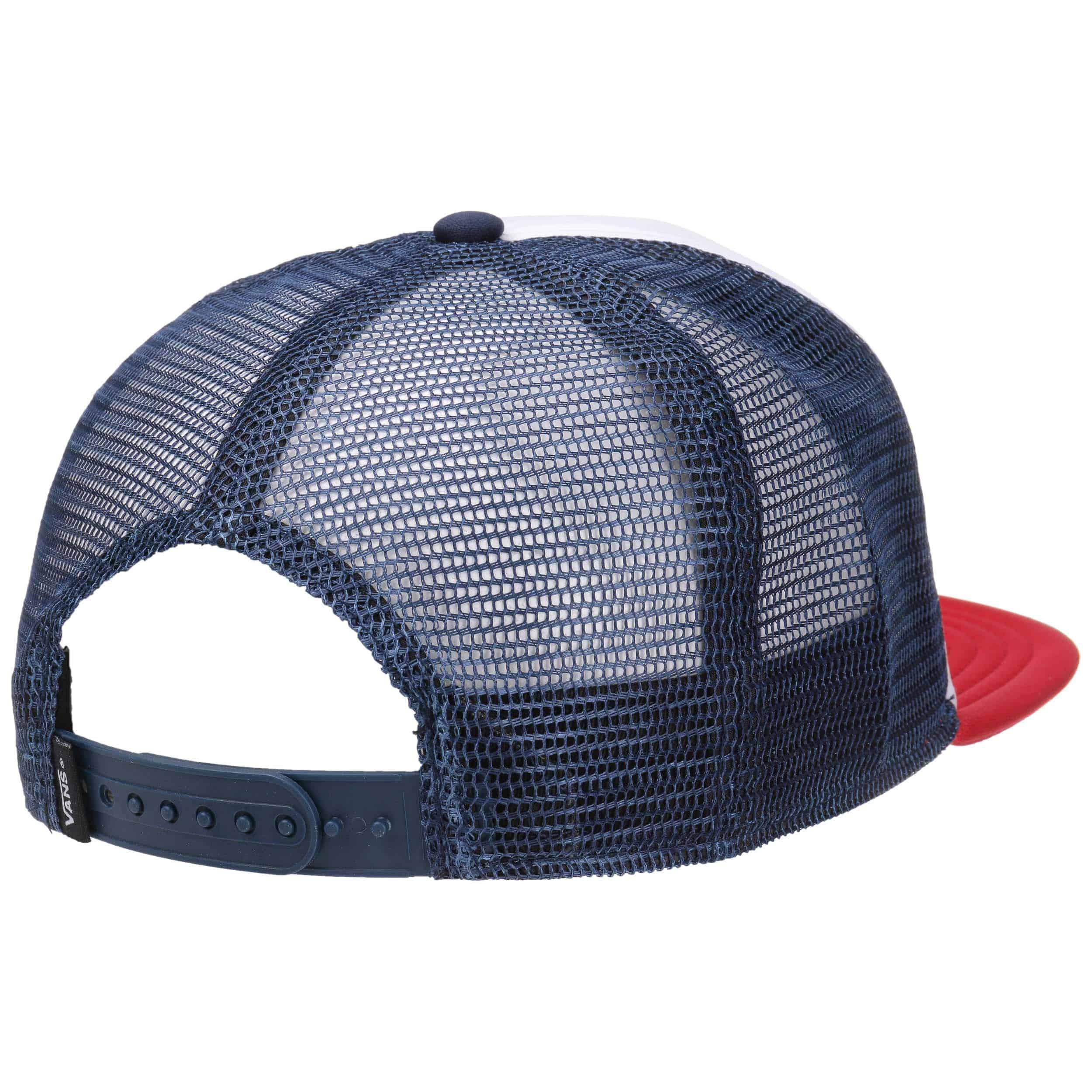 casquette vans bleu blanc rouge