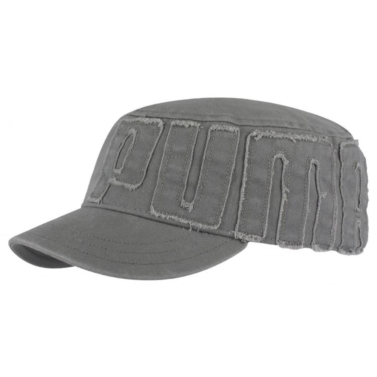 Casquette Cullen Military Cap by PUMA - gris 1 ...