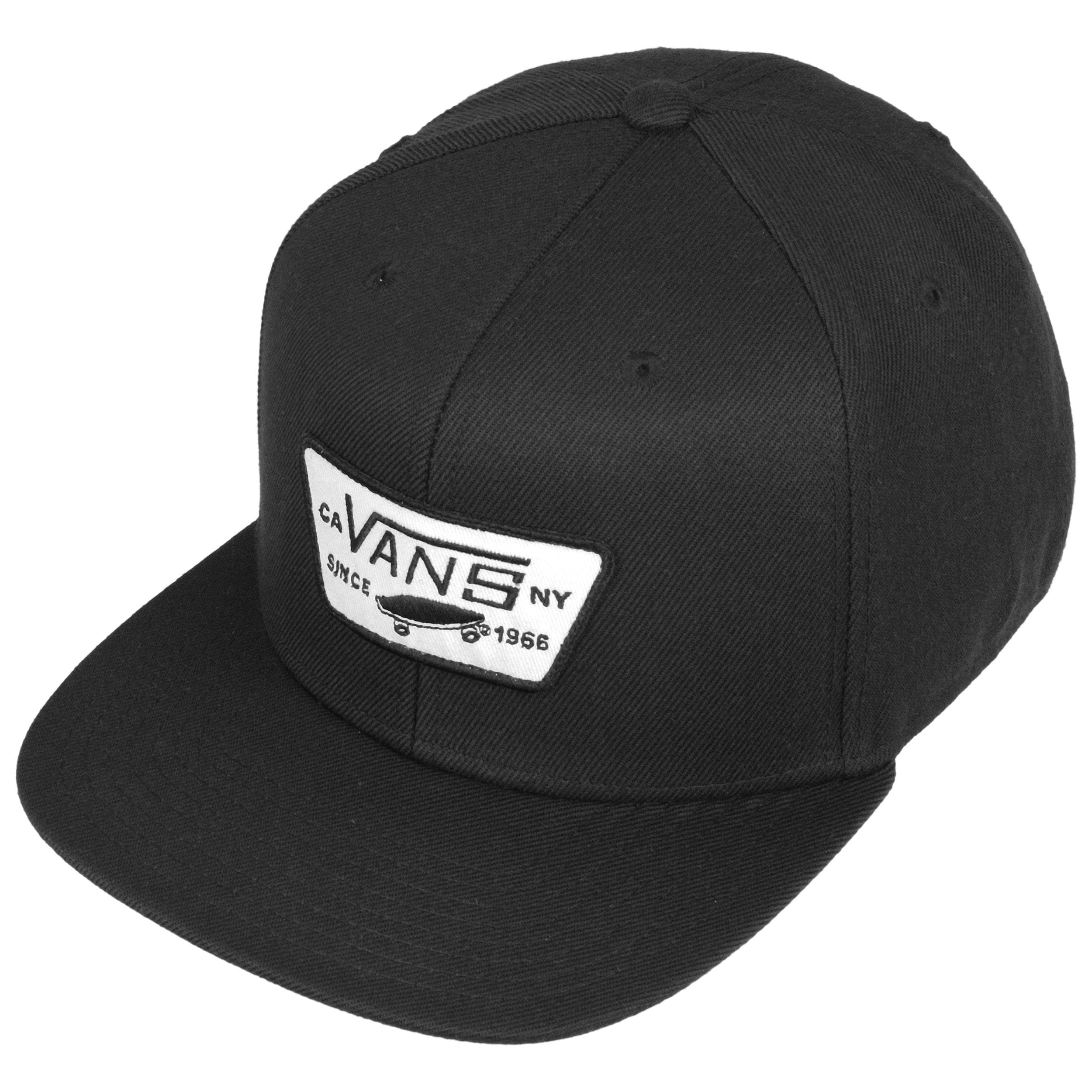 casquette vans blanche et noir
