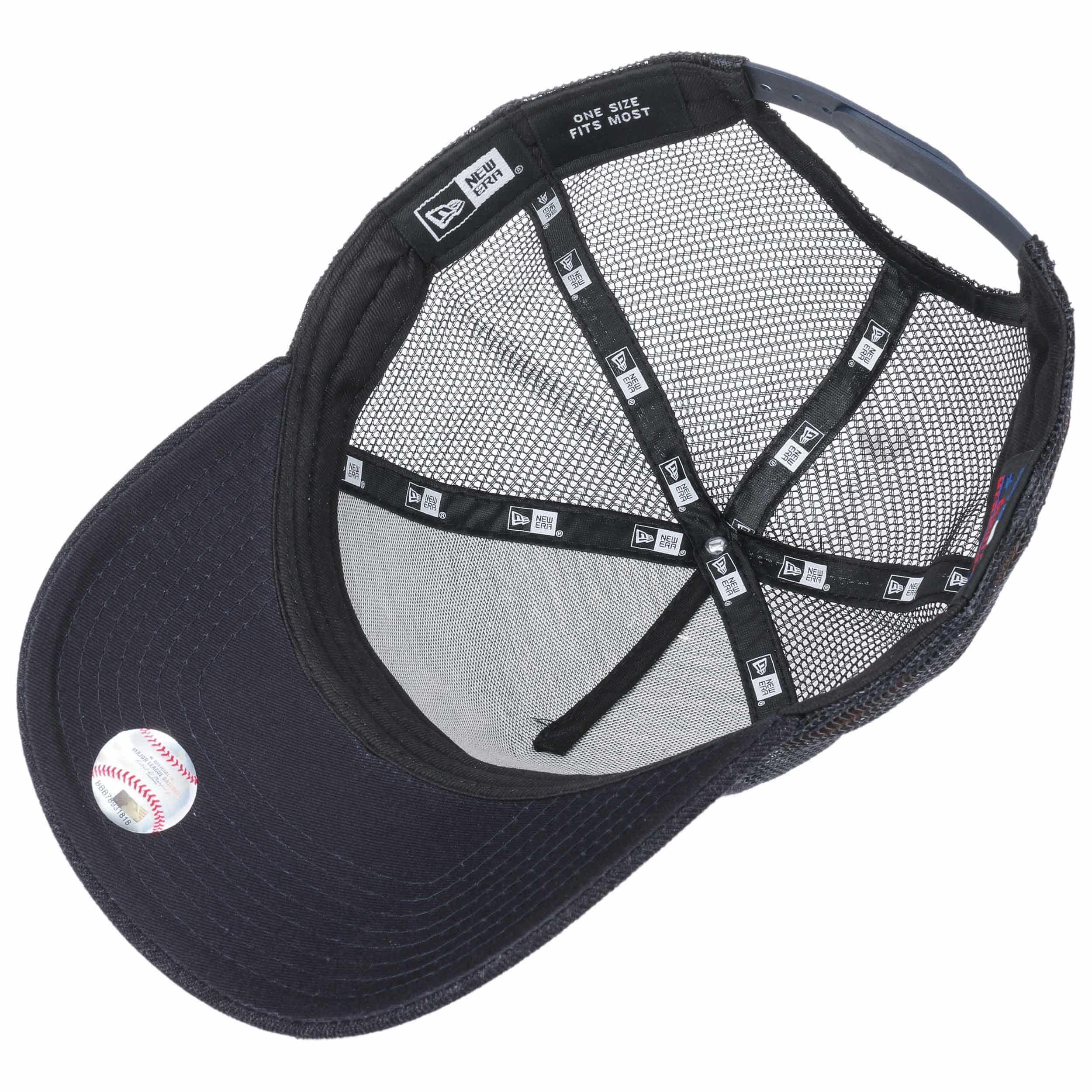 616d1ffc7 New era Cap NEW ERA d Frame Trucker New York Yankees patch mesh Hat cap