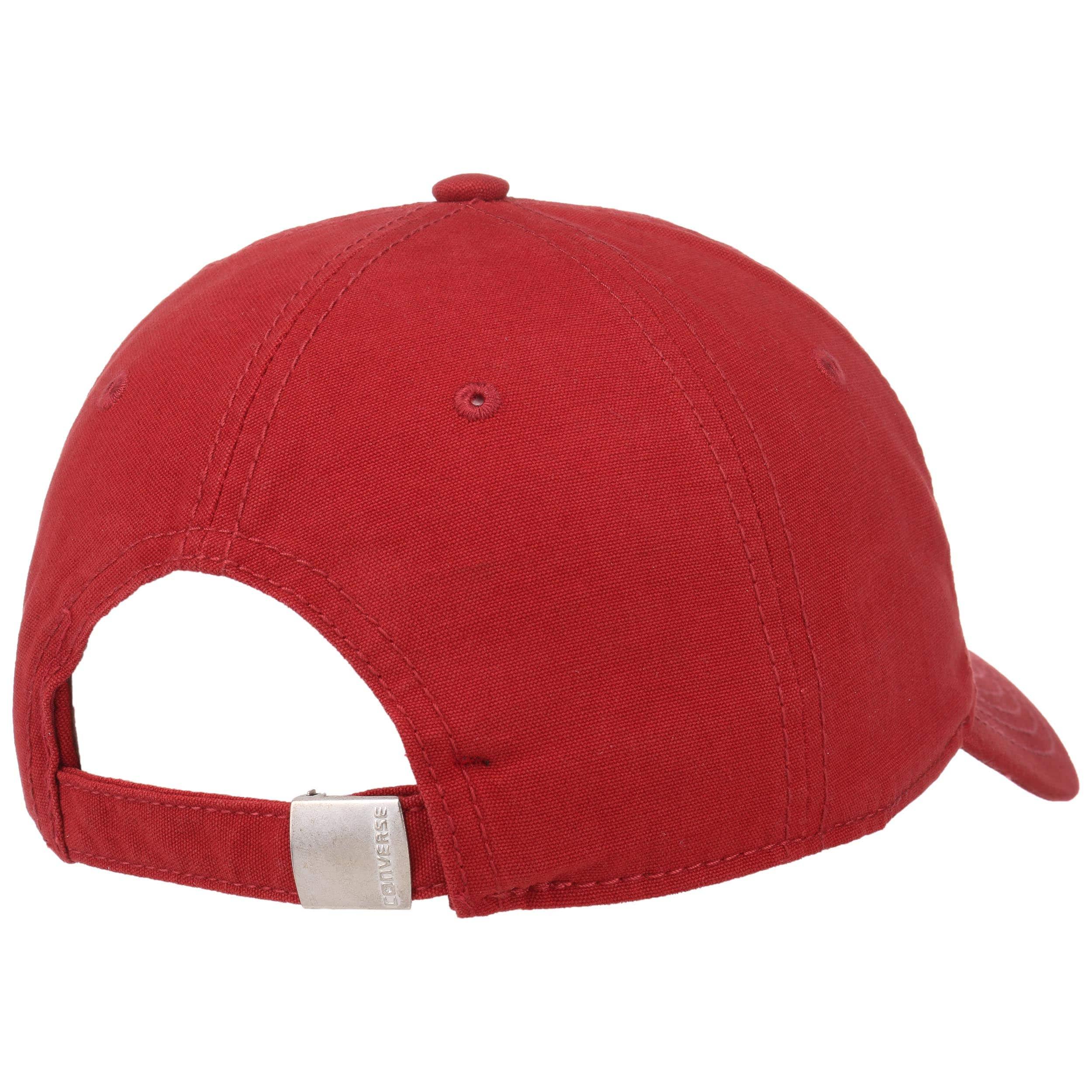 casquette rouge homme converse