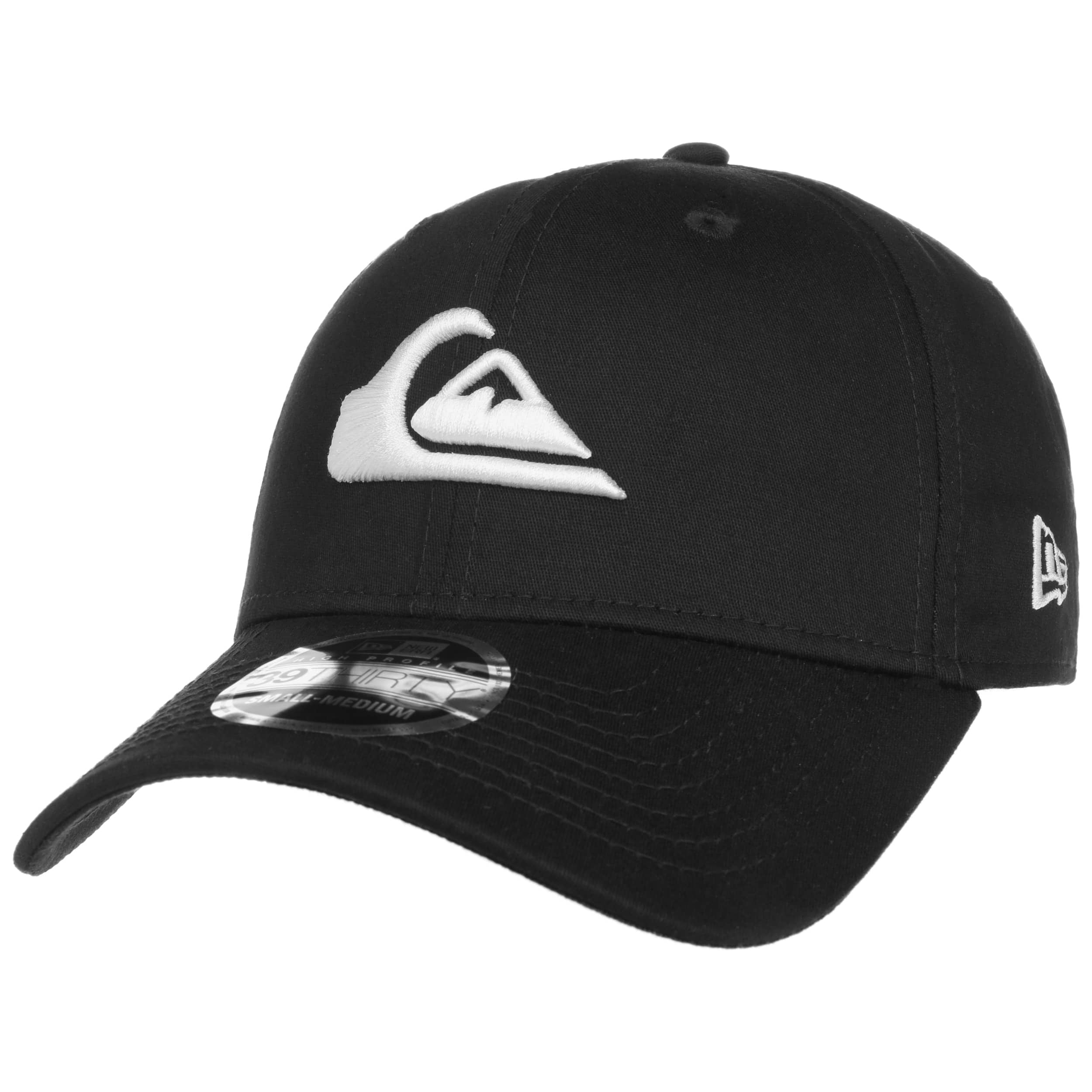 Casquette Mountain \u0026 Wave by Quiksilver , noir,blanc 2