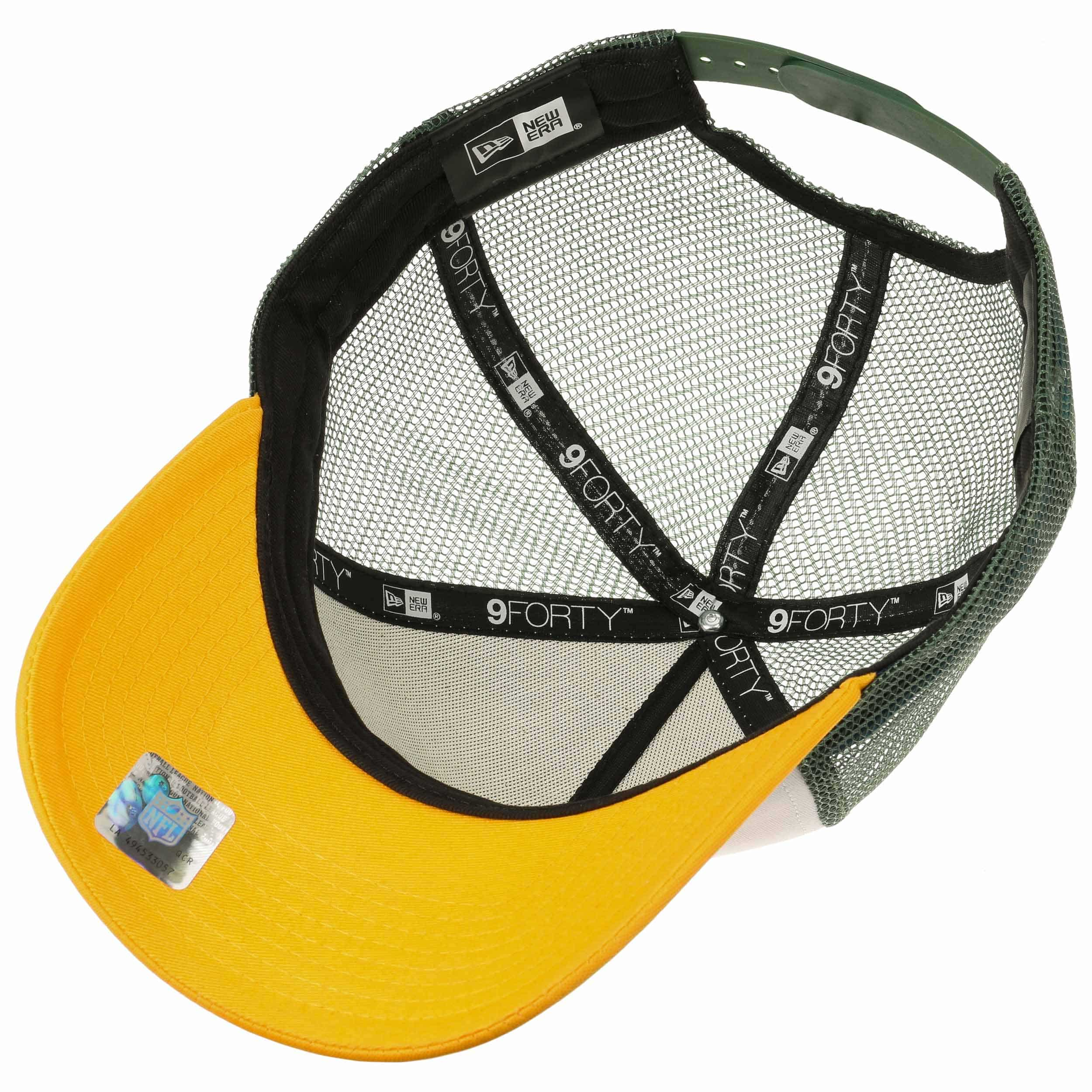 48efa933ab05 ... Casquette NFL Throwback Packers by New Era - blanc 3 ...
