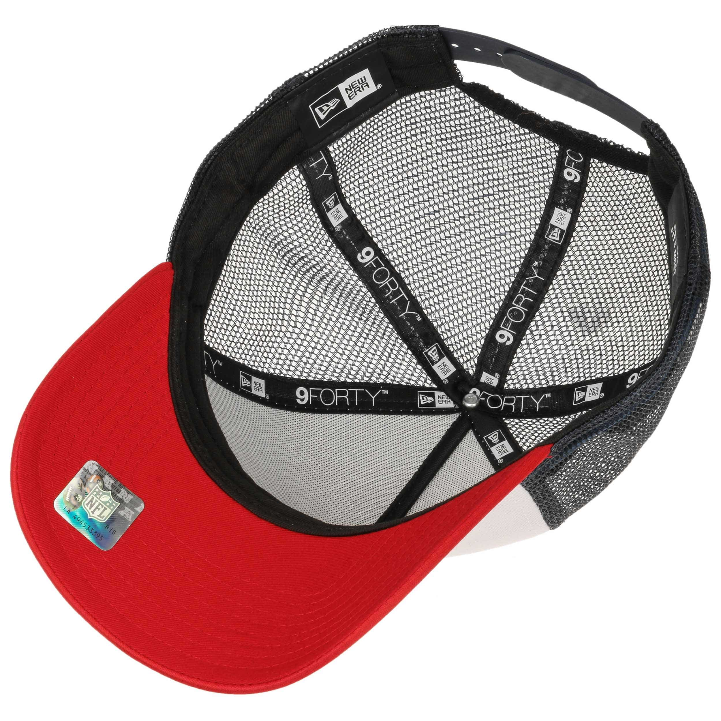 e764630326e1 ... Casquette NFL Throwback Trucker Pats by New Era - blanc 3 ...