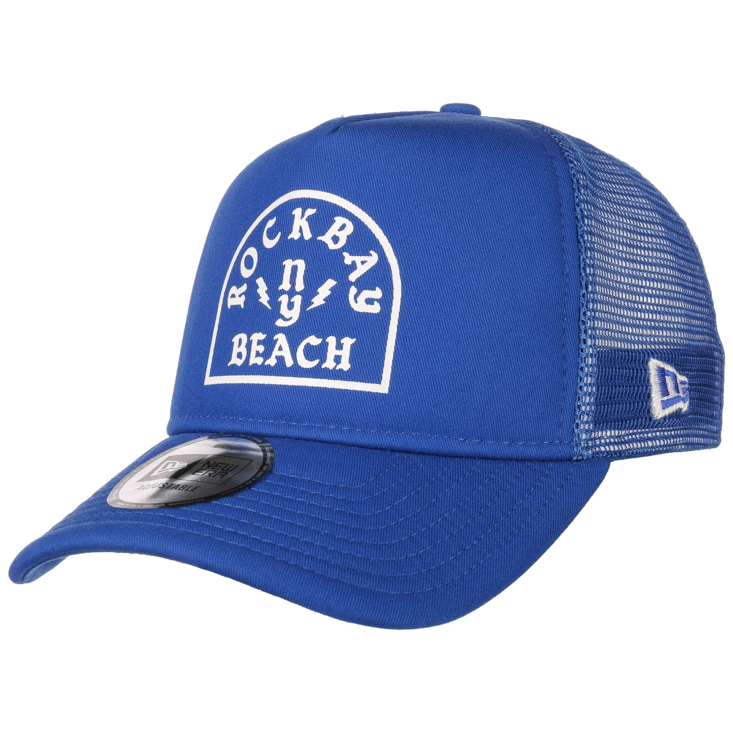 4d603fa5c55ab ... Casquette Trucker Rockbay Beach by New Era - royalbleu 6