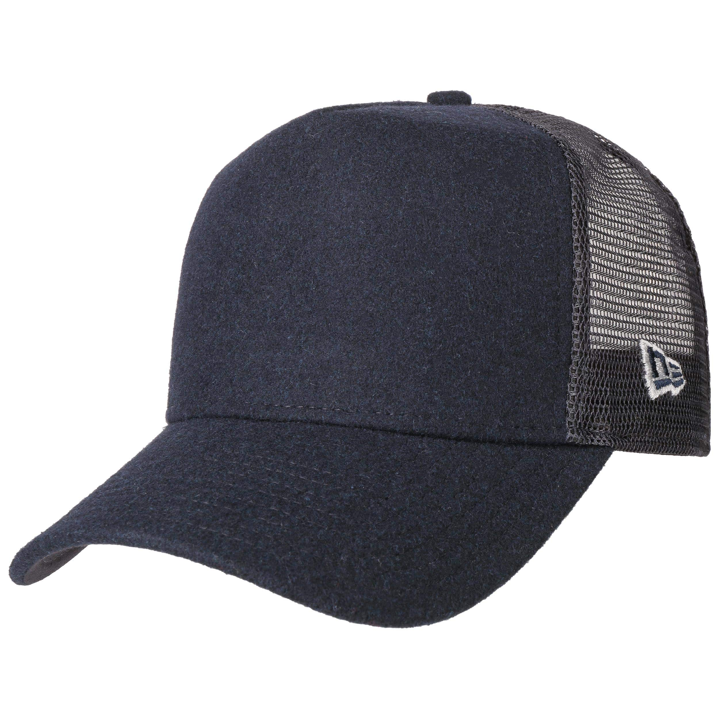 8999e9a2207b5 ... Casquette Trucker Winter Melton by New Era - bleu foncé 5 ...