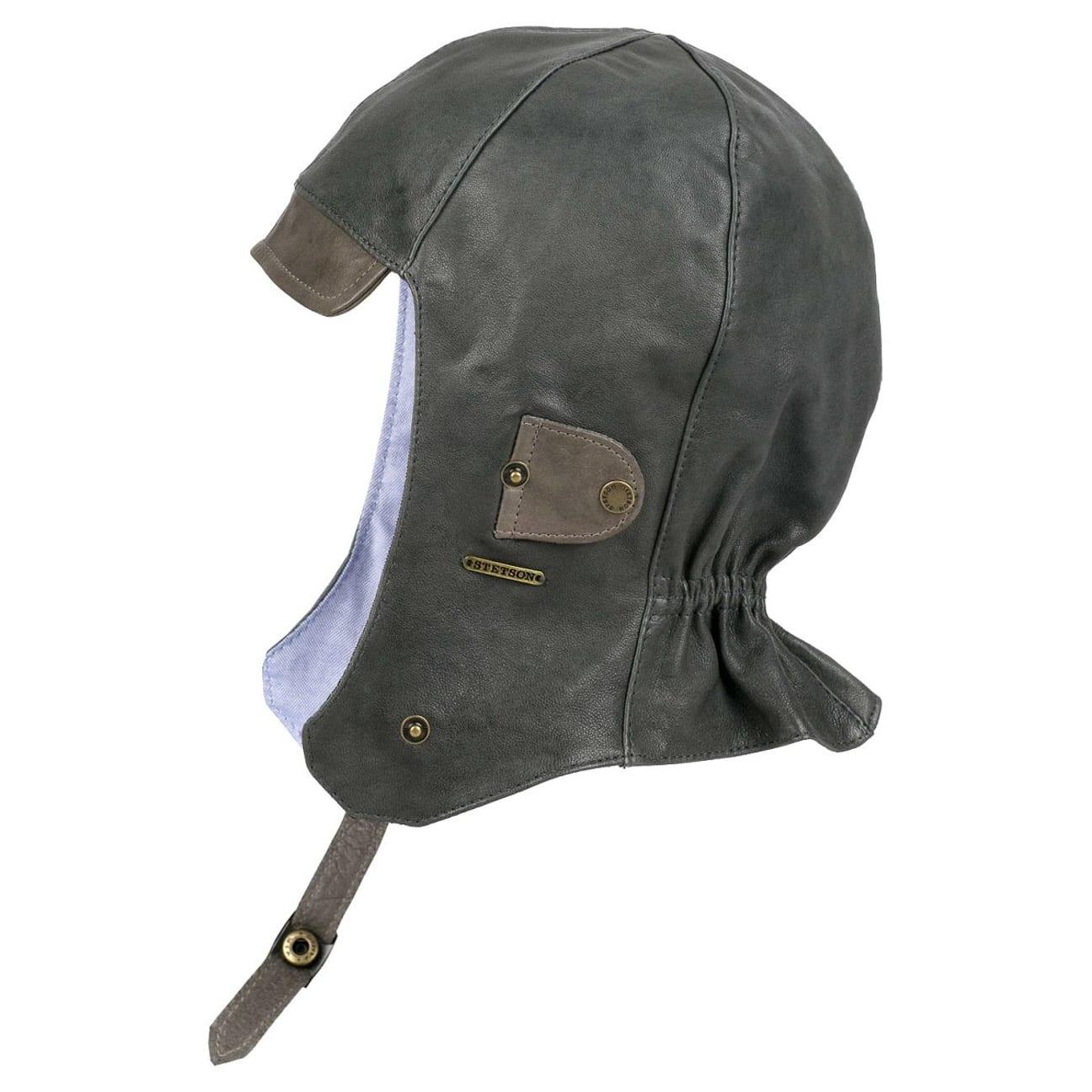 chapeau aviateur aspen en cuir by stetson 99 00. Black Bedroom Furniture Sets. Home Design Ideas