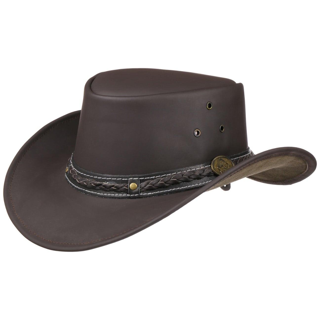 chapeau borderland en cuir eur 39 95 chapeaux
