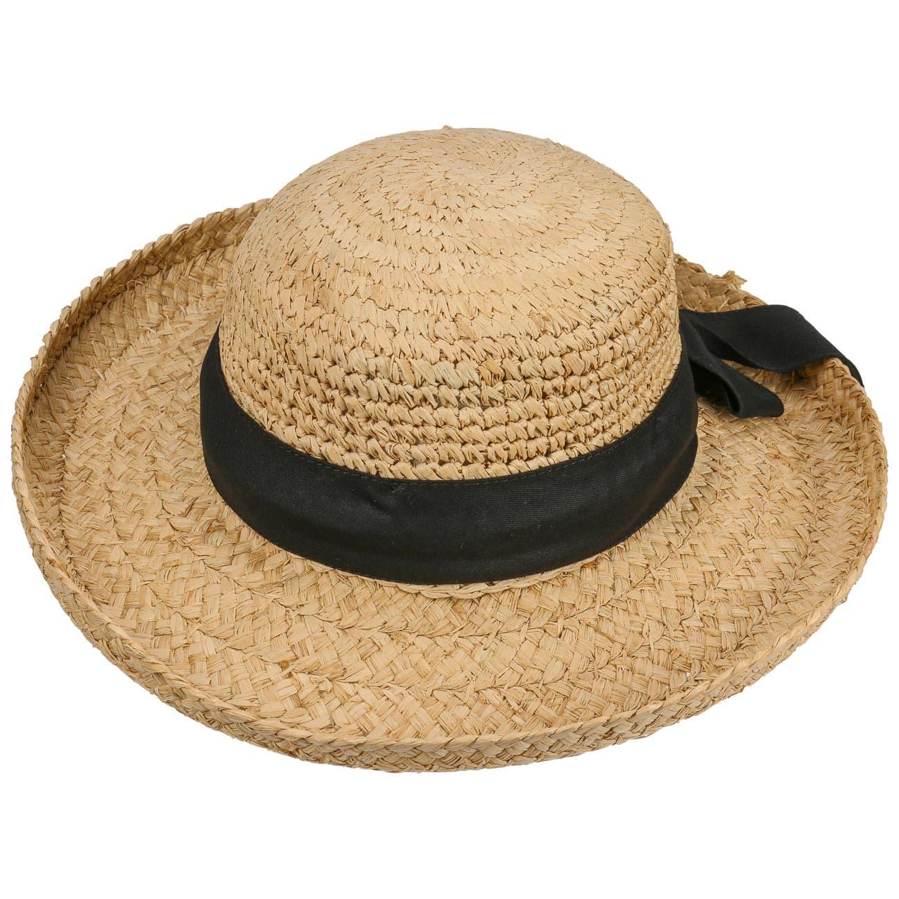chapeau jasela pour femme en paille raphia 39 95. Black Bedroom Furniture Sets. Home Design Ideas