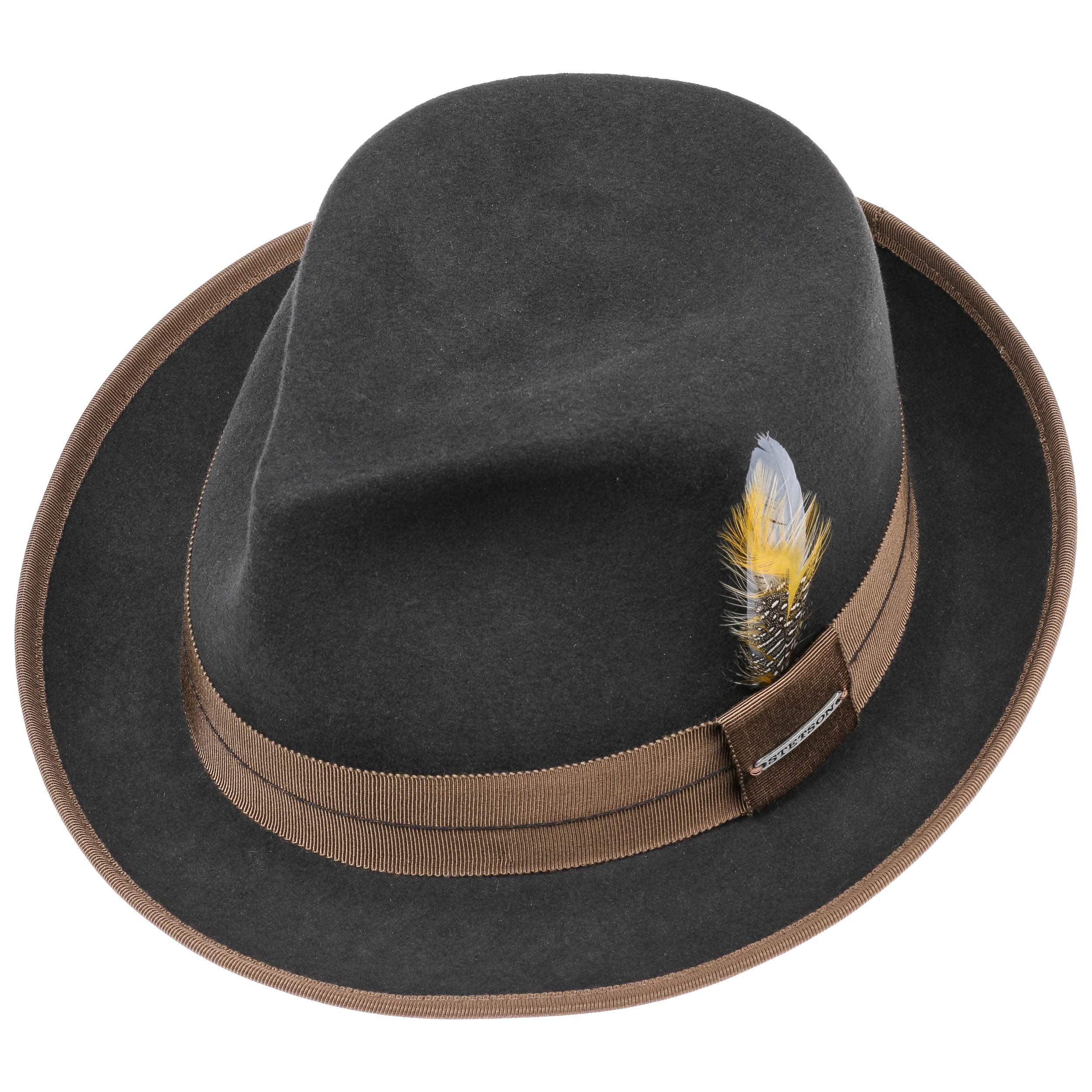 chapeau orleans fedora vitafelt by stetson eur 149 00 chapeaux casquettes et bonnets en. Black Bedroom Furniture Sets. Home Design Ideas