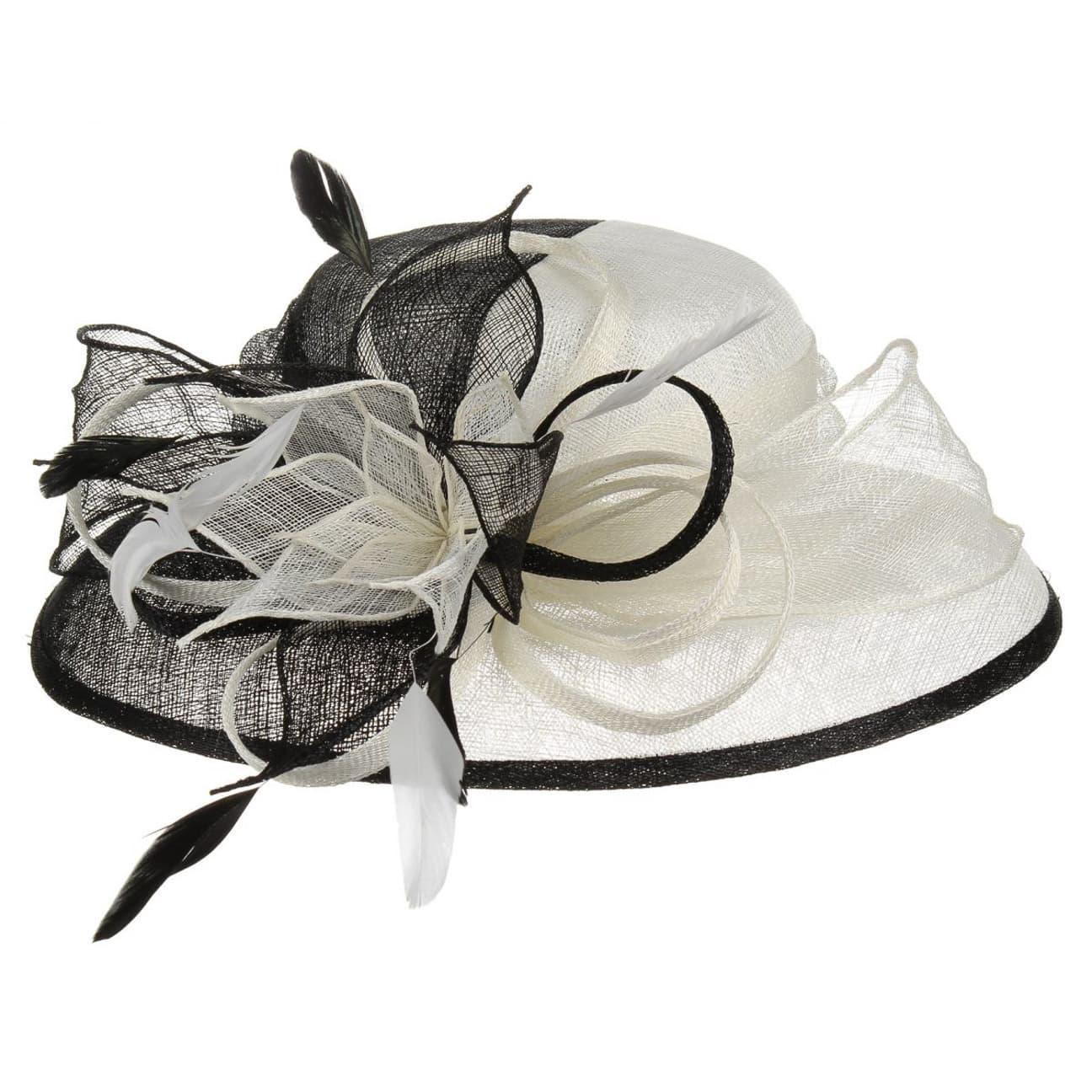 chapeau de c r monie sinamay by mcburn 69 00. Black Bedroom Furniture Sets. Home Design Ideas