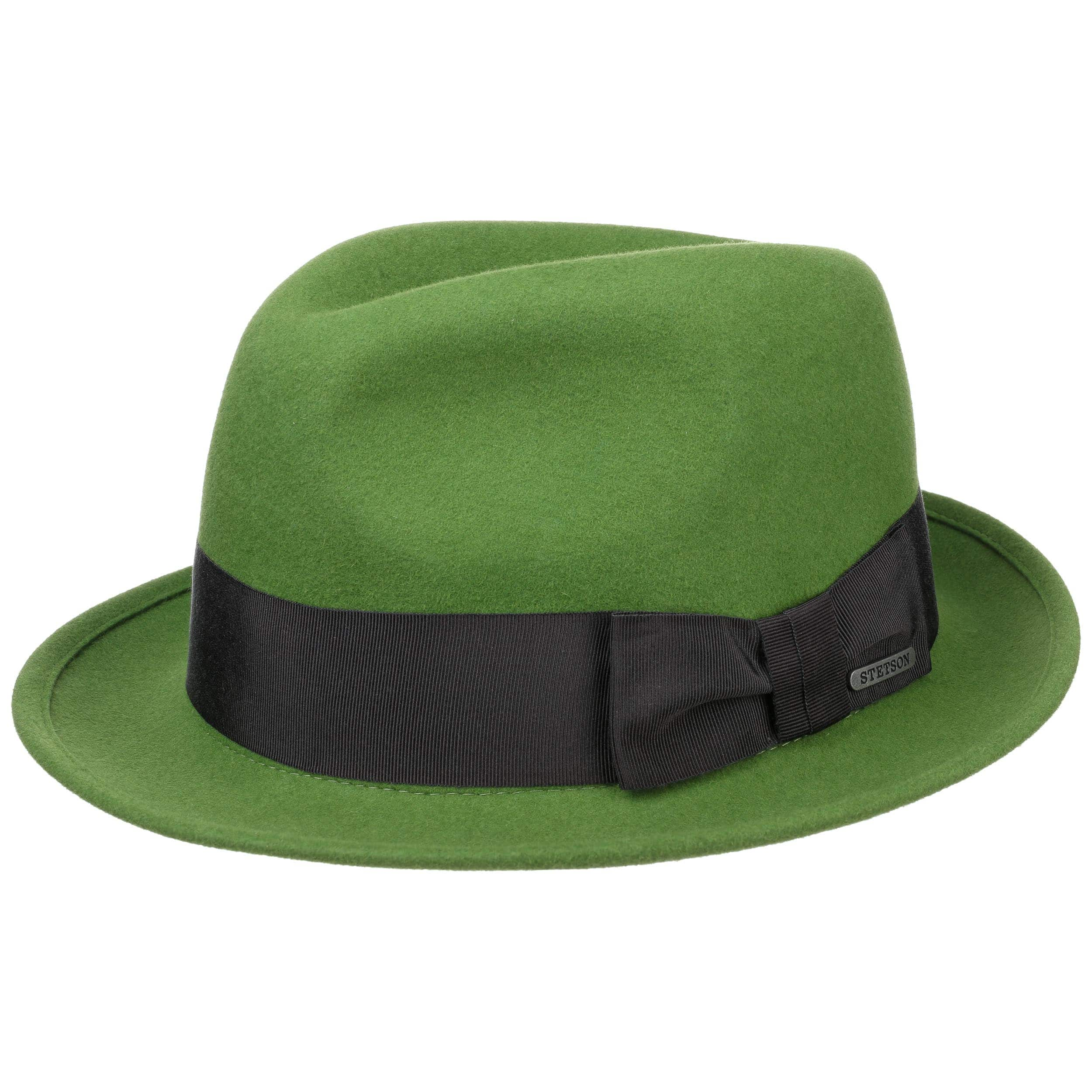 d9be2c2537217 ... Chapeau en Feutre de Poil Marico by Stetson - vert 5 ...