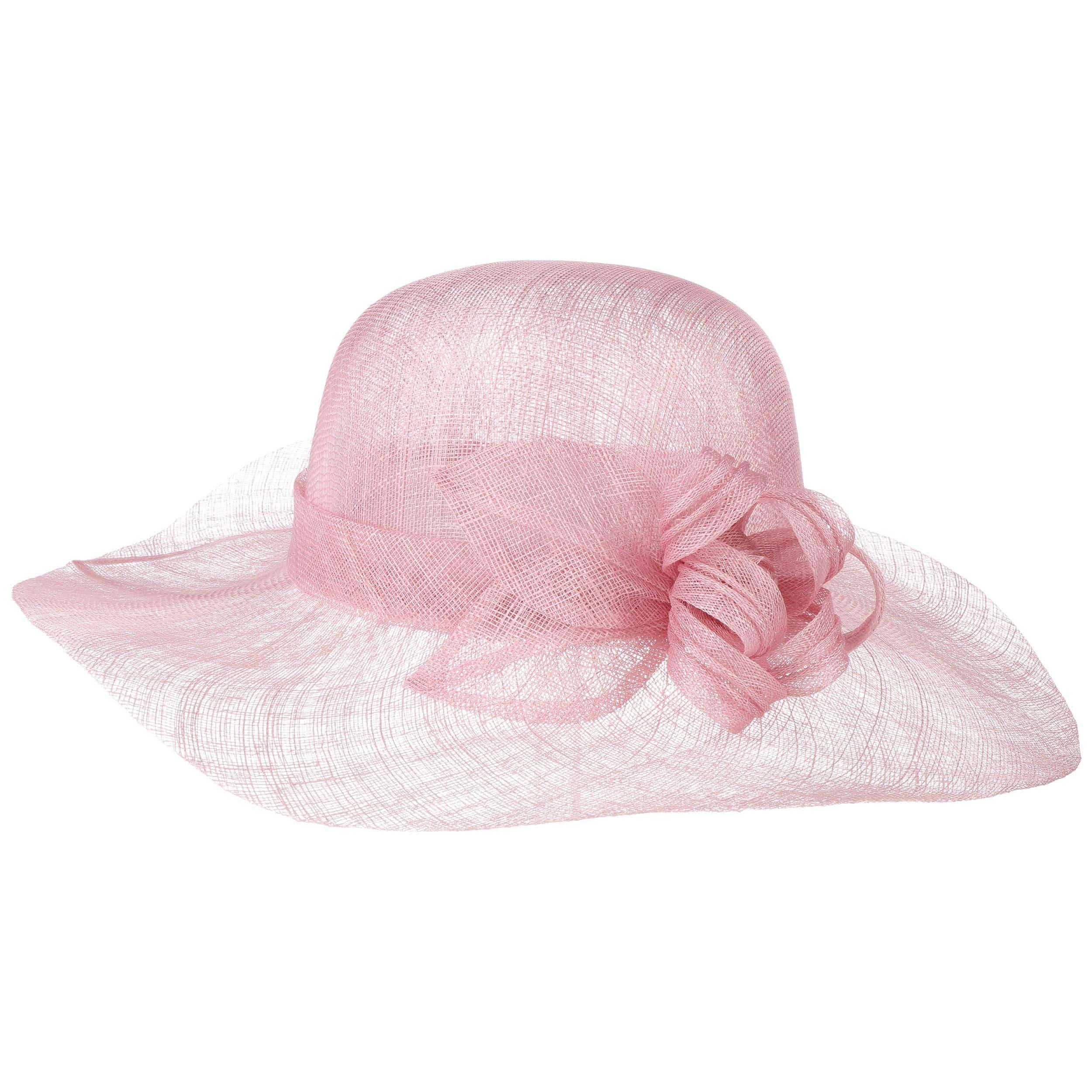 60d1c12f7c49e ... Chapeau pour Femme Matera Sinamay by Seeberger - rouge 5 ...