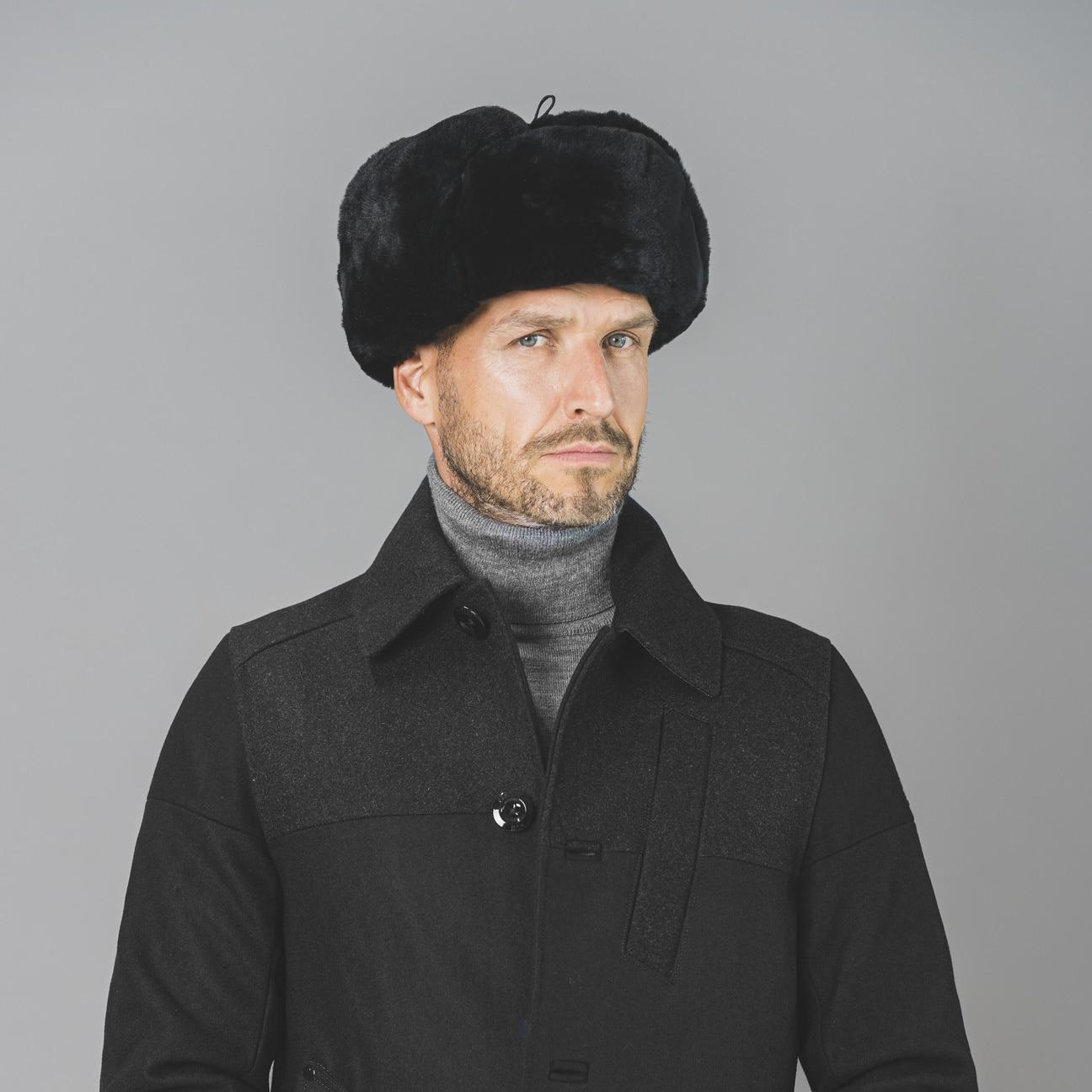 chapka jivago en fourrure by lierys eur 59 00 chapeaux casquettes et bonnets en ligne. Black Bedroom Furniture Sets. Home Design Ideas