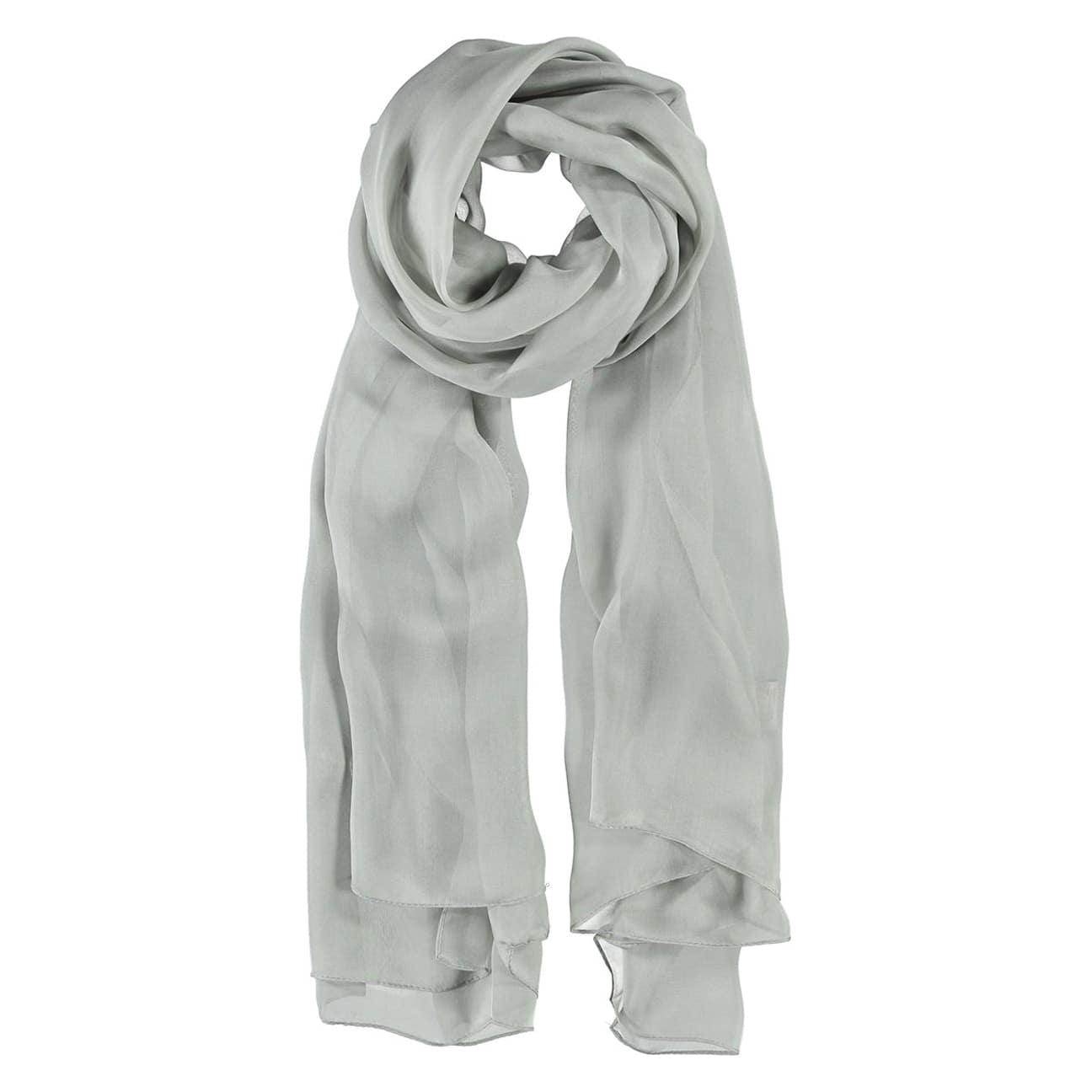 640c4dc4917 ... bordeaux 1 · Foulard Soie Chiffon by Passigatti - gris clair 1 ...